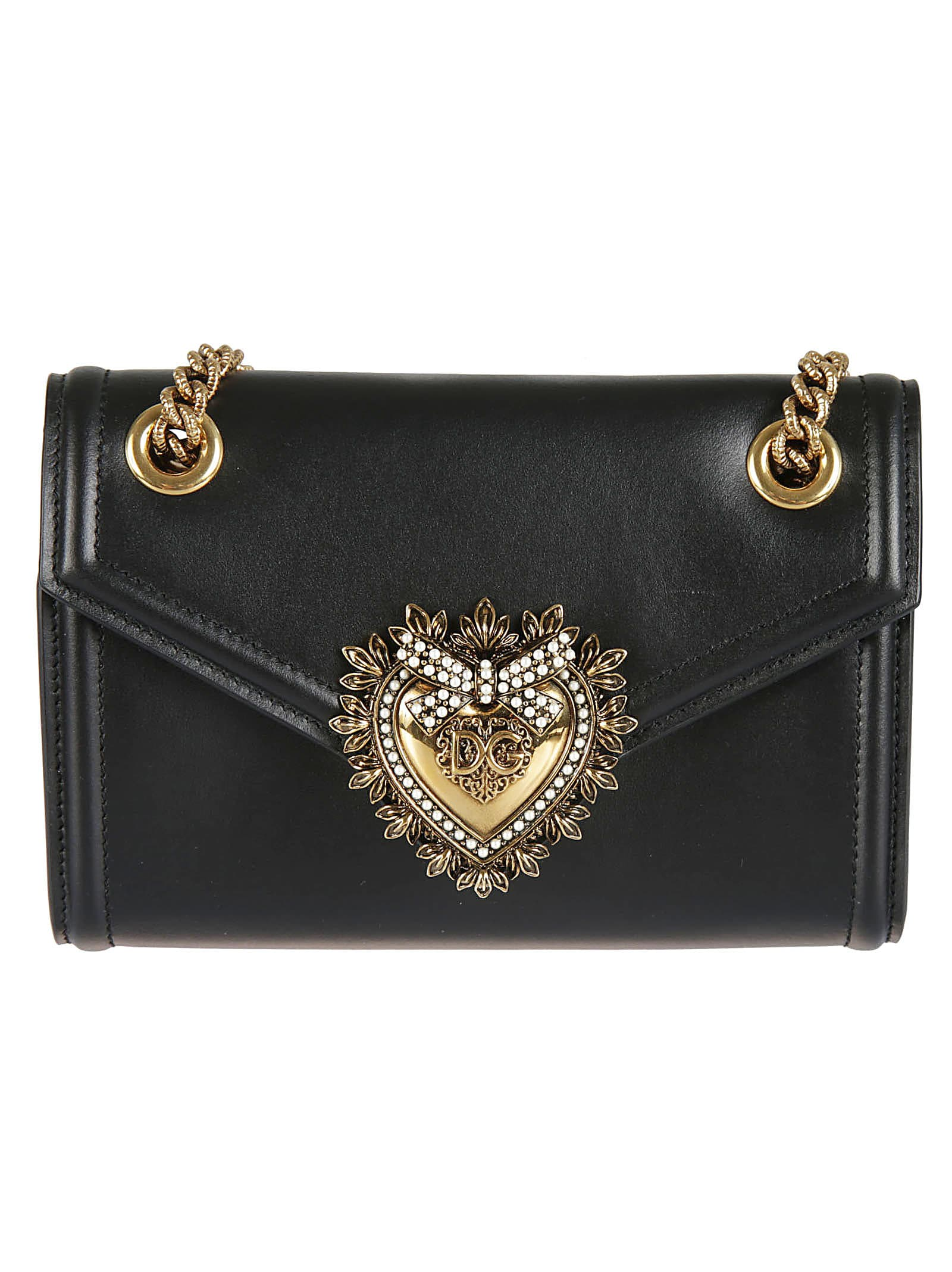 Dolce & Gabbana Embellished Shoulder Bag