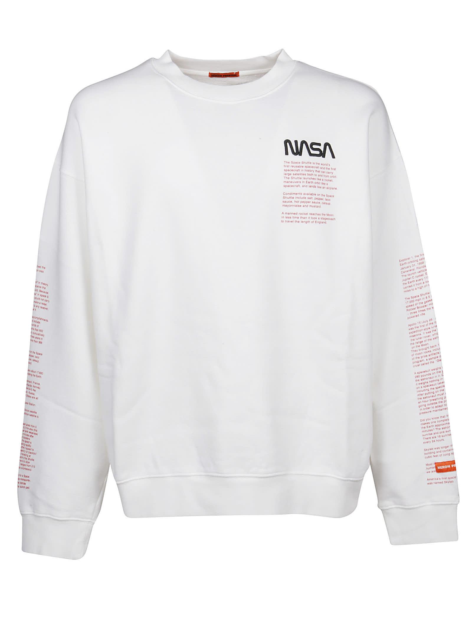 seleziona per il meglio stile alla moda shopping HERON PRESTON Felpa Nasa Facts