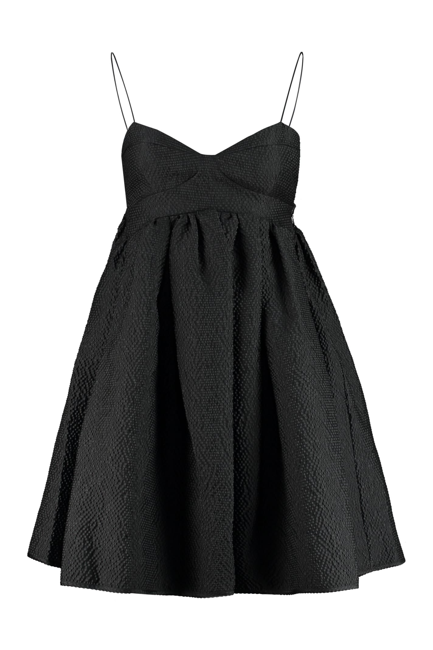 Buy Cecilie Bahnsen Hooda Thin-strap Mini Dress online, shop Cecilie Bahnsen with free shipping
