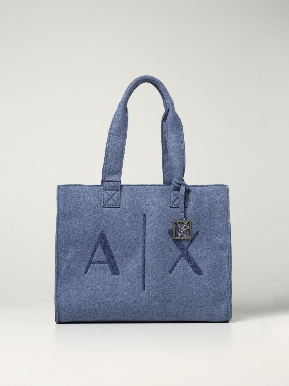 Armani Exchange Tote Bags Armani Exchange Fabric Bag