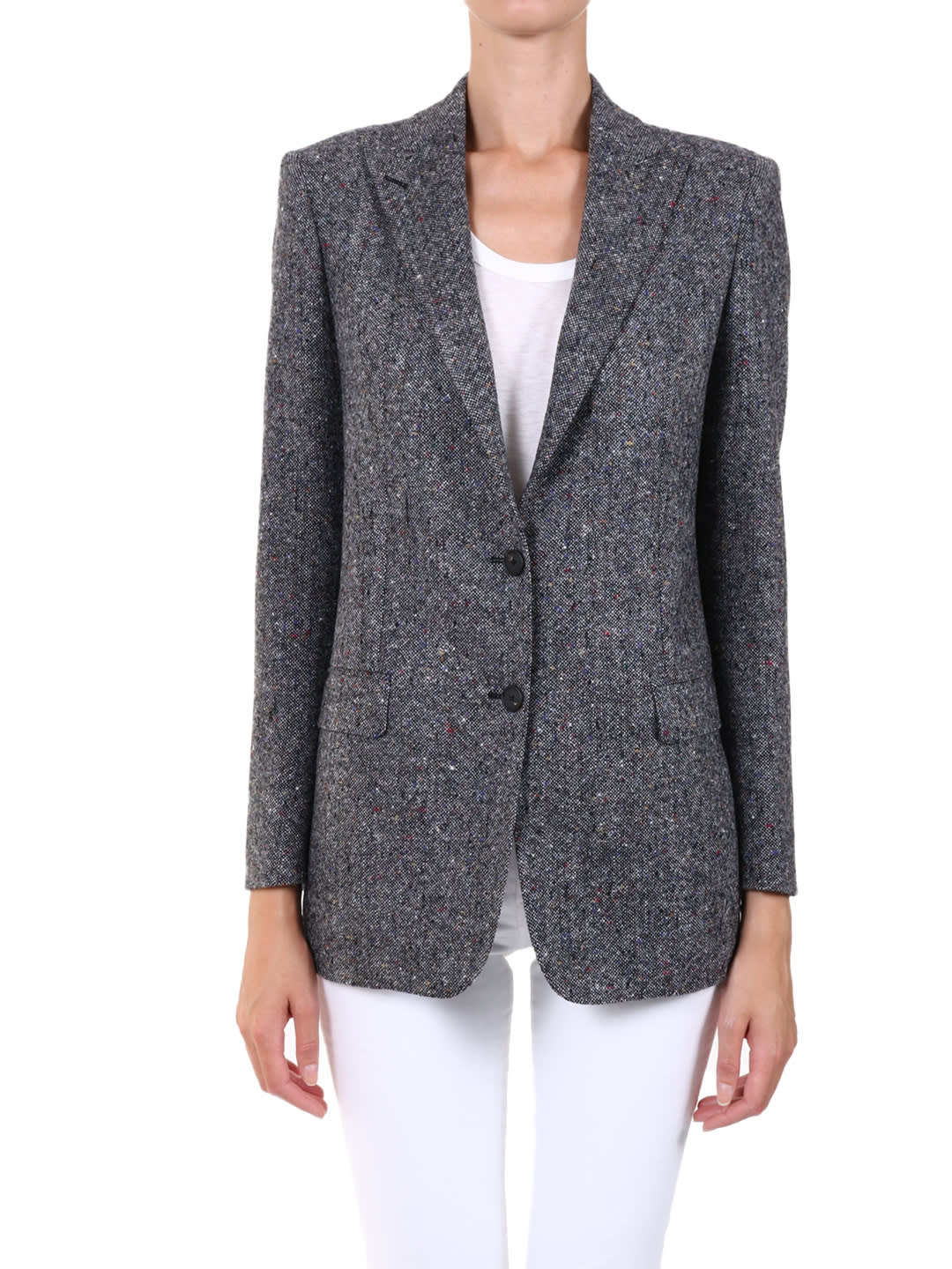 Tagliatore WOOL JACKET GRAY