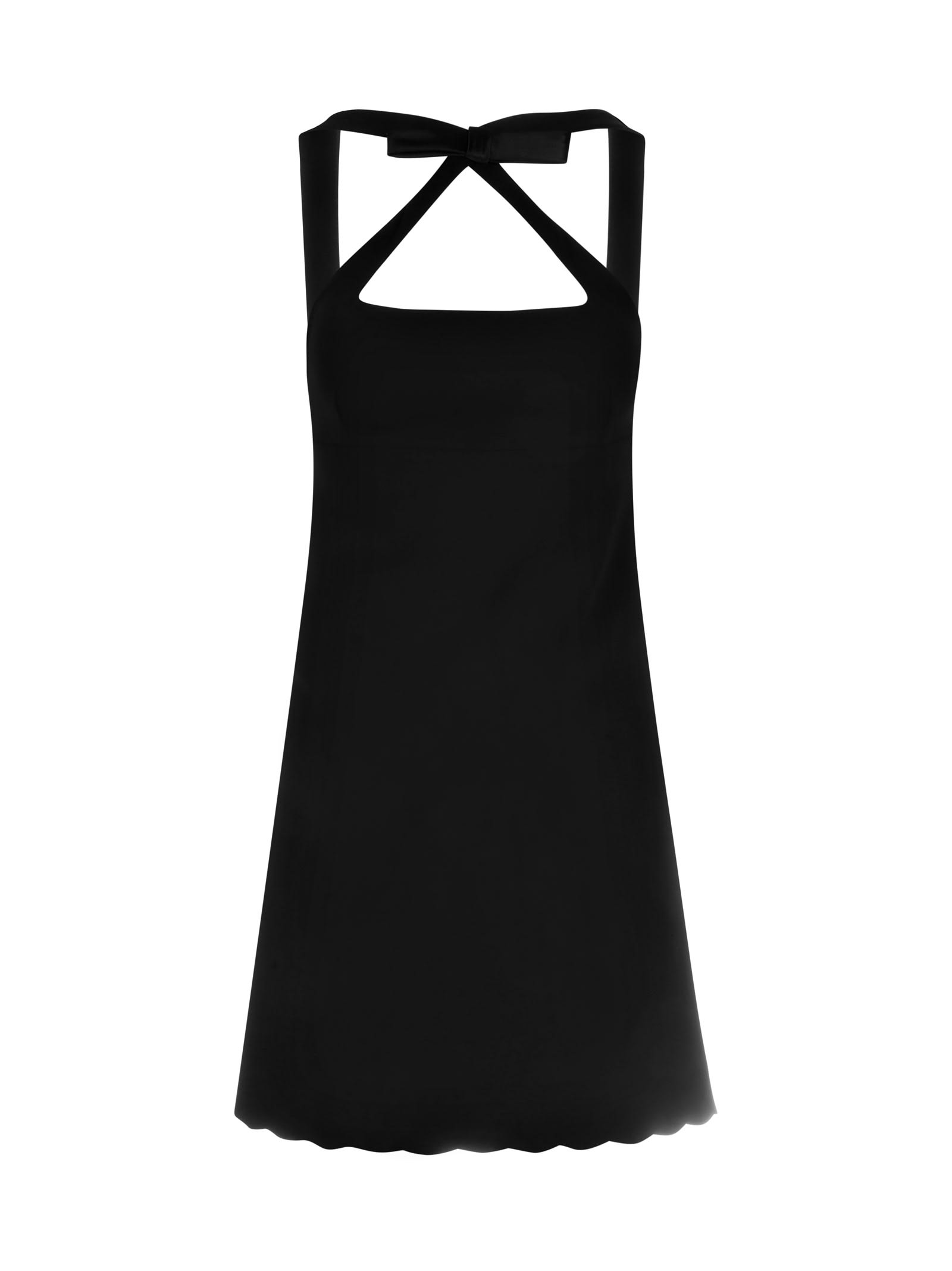 Buy Faille Cady Dress online, shop Miu Miu with free shipping