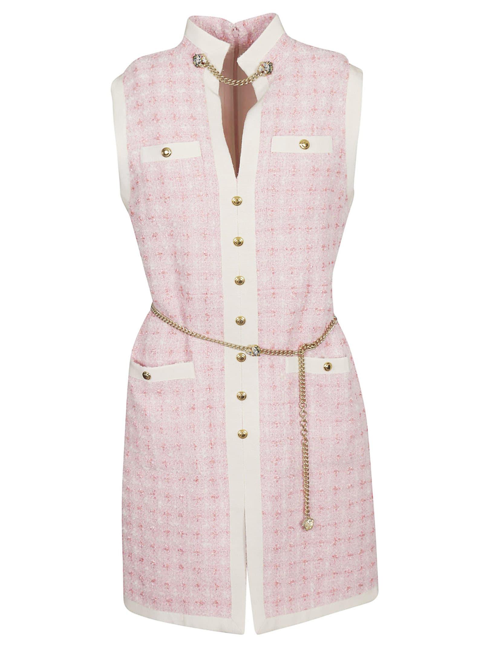 9c32b1c0c Gucci Gucci Tweed Short Dress - Pink - 10920445 | italist
