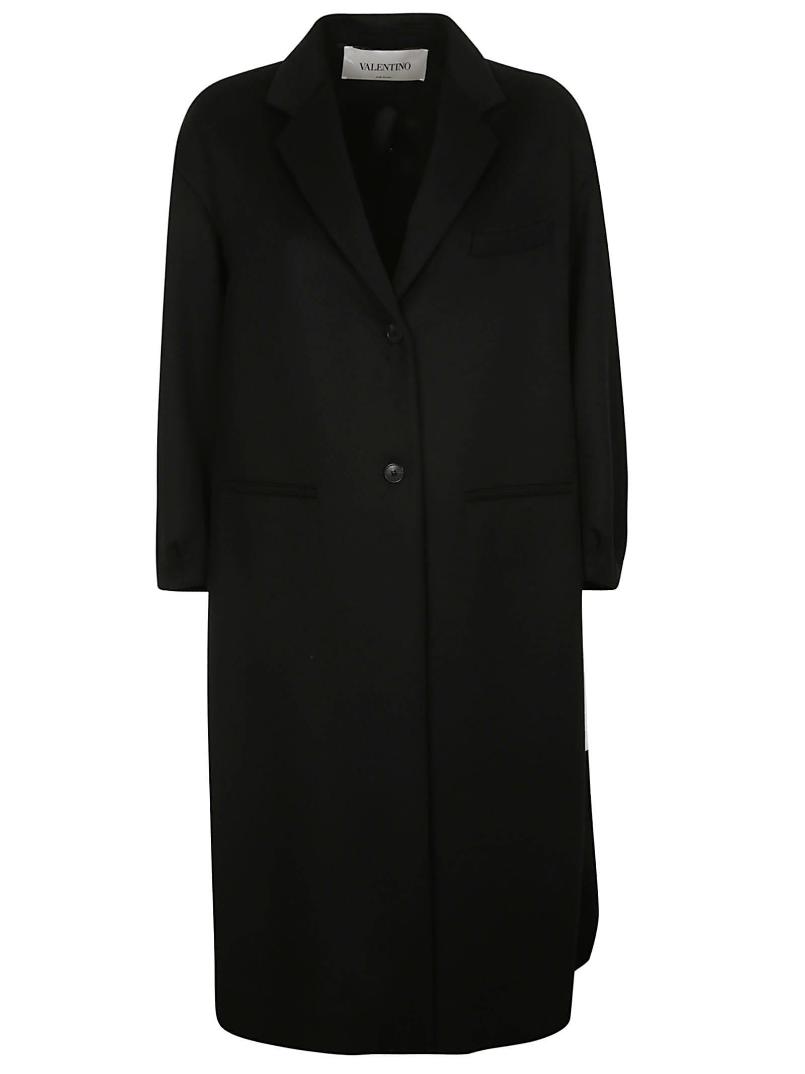 Valentino Buttoned Coat