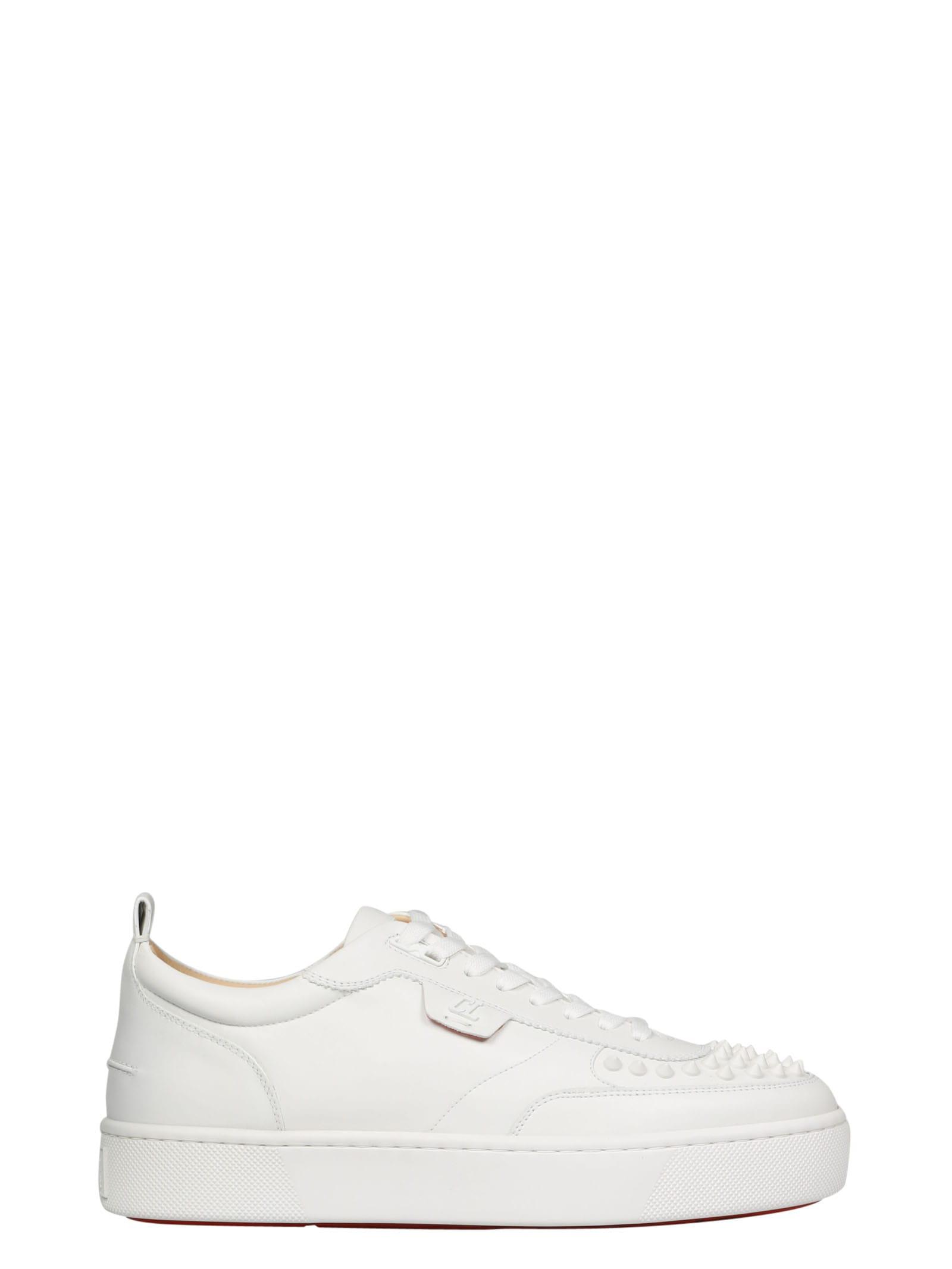louboutin shoes white