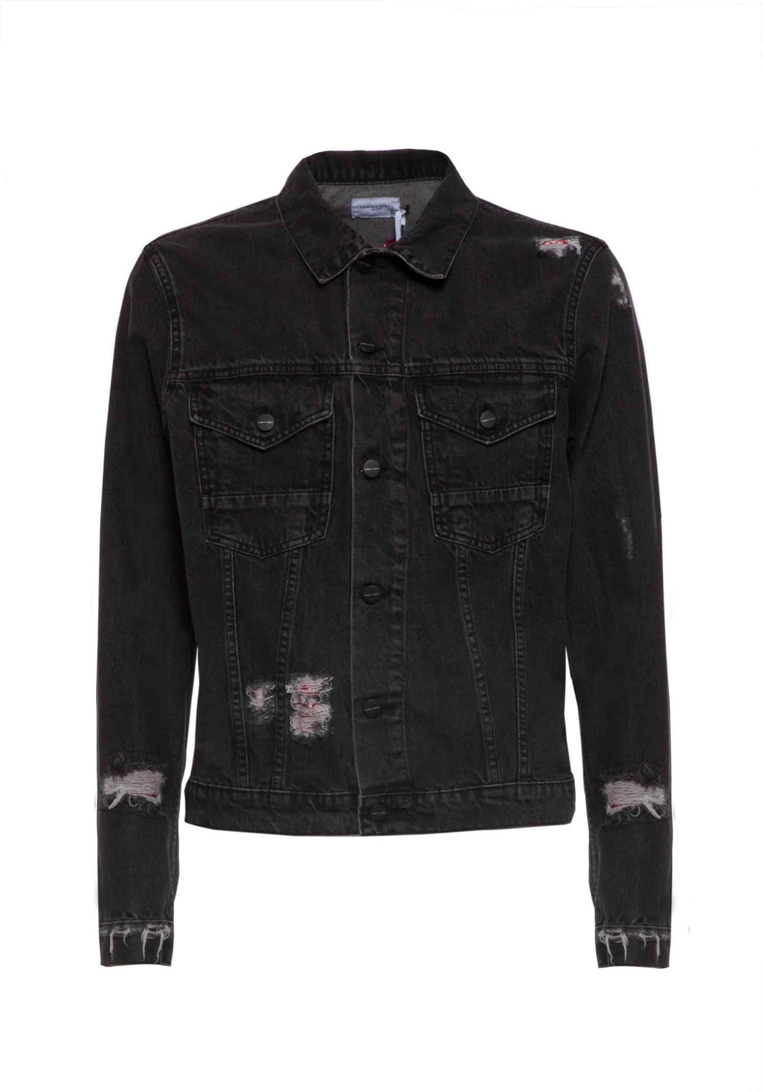 Jacket Denim Patch Bandana