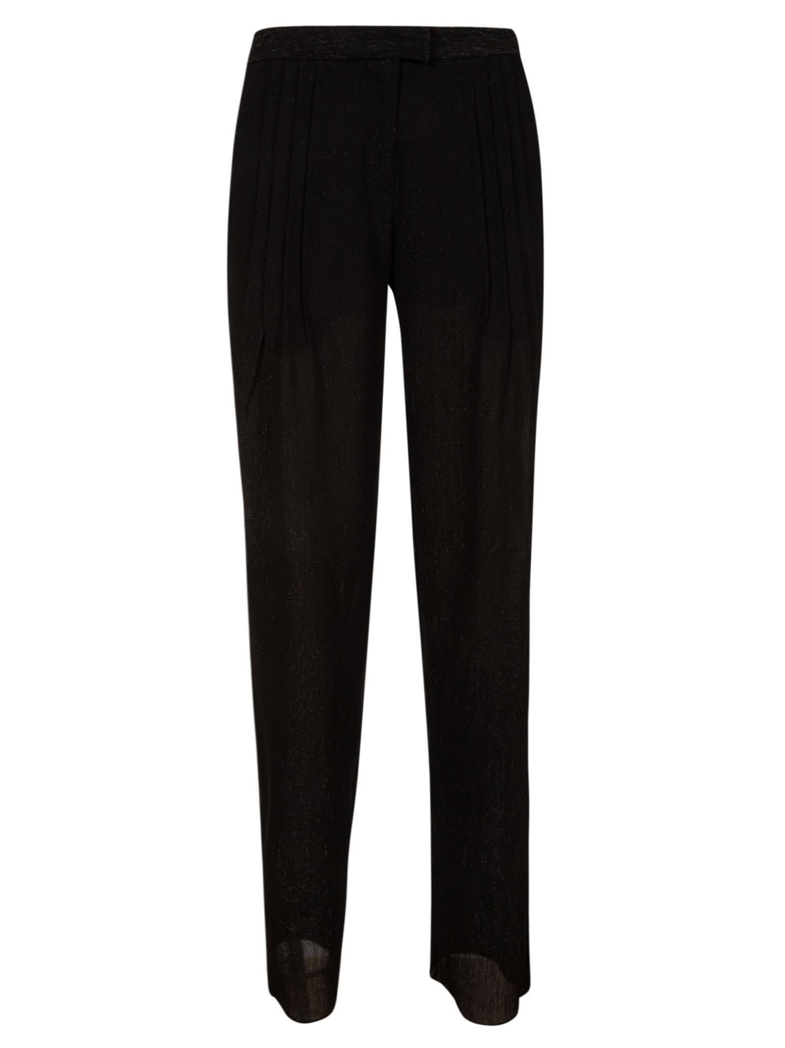 Emporio Armani Side Pleated Trousers