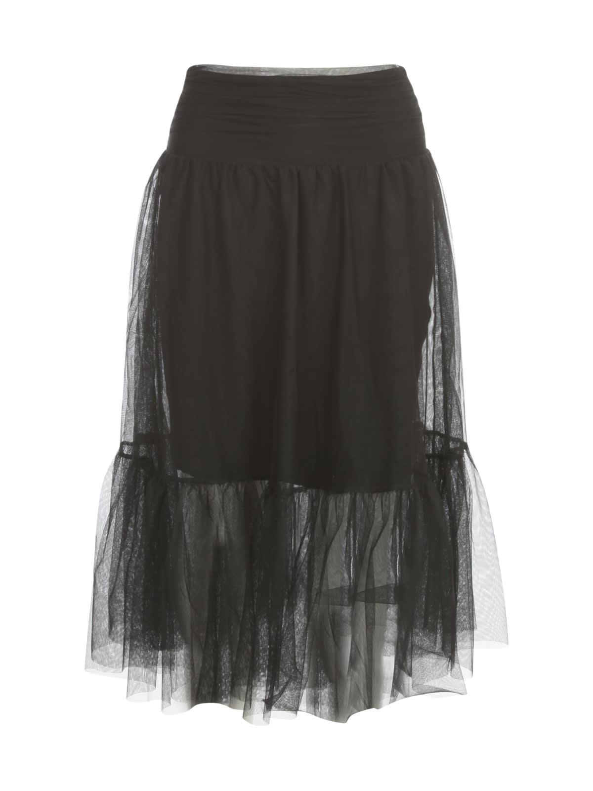 Tulle Skirt W/flounce