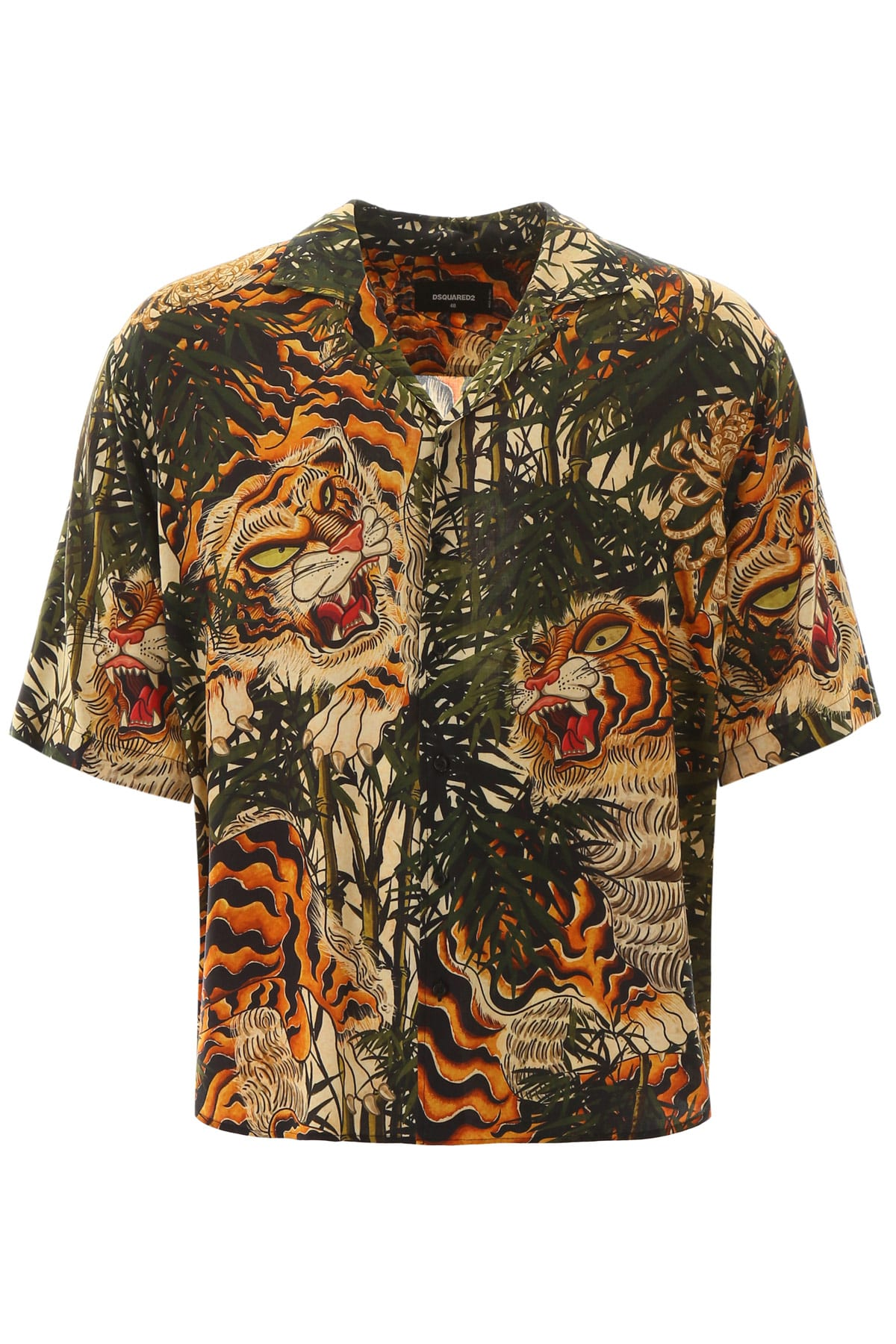 Dsquared2 Tiger Bamboo Shirt