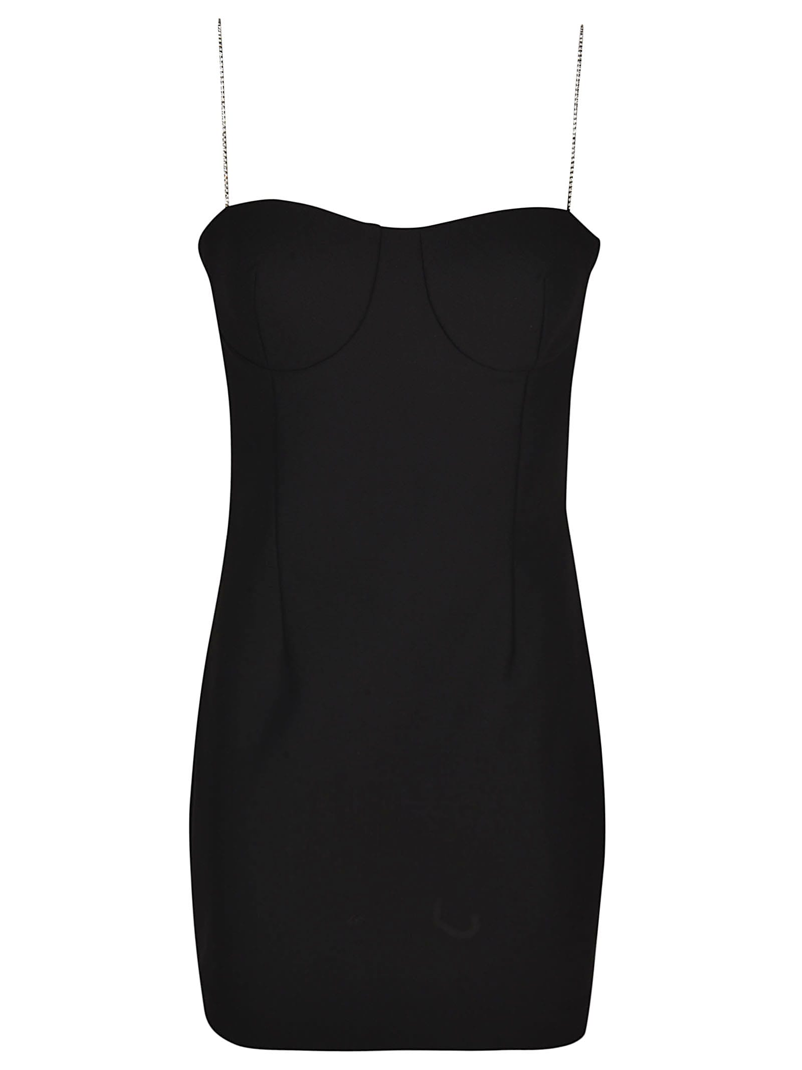 AREA Fitted Mini Dress