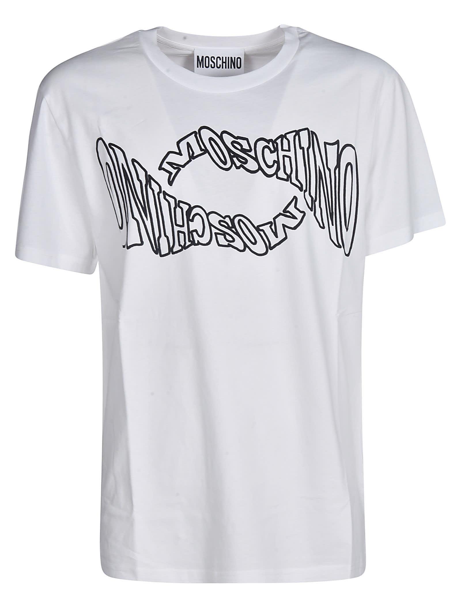 Moschino Two-logo T-shirt