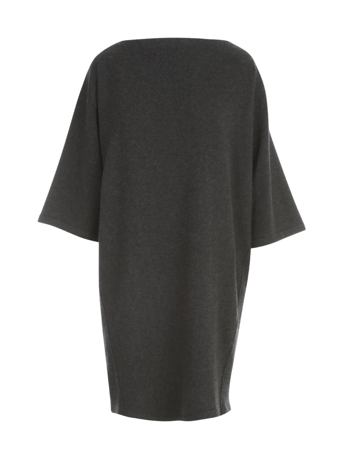 Boat Neck 3/4s Dress