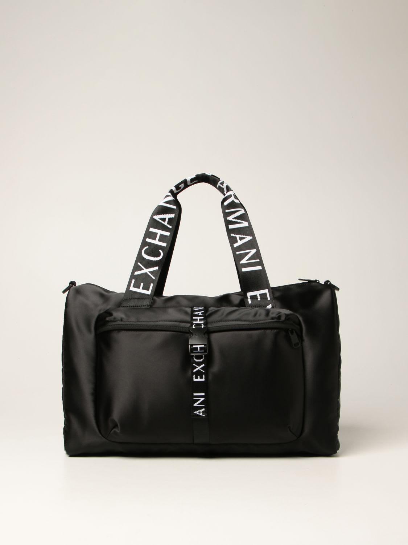 Armani Exchange Travel Bag Armani Exchange Bag In Technical Fabric