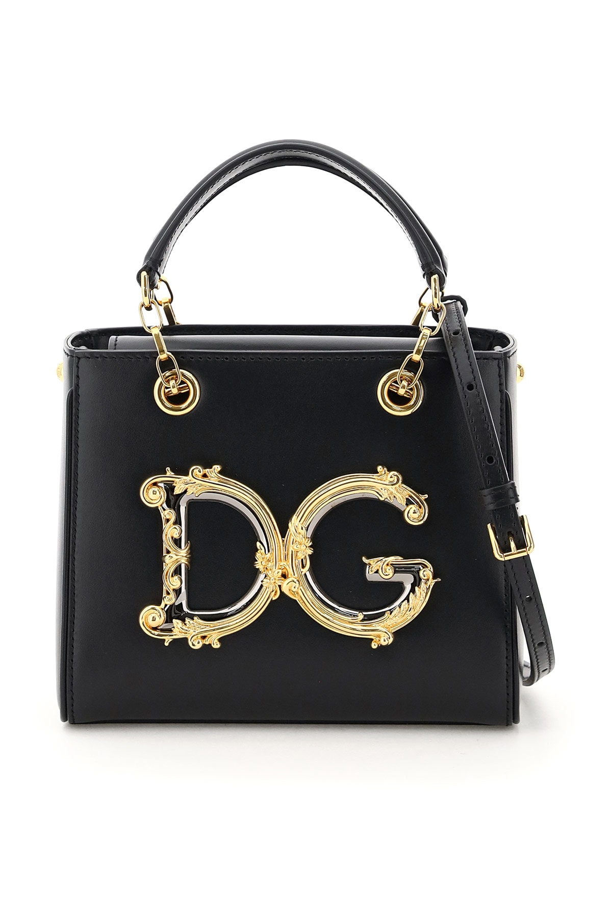 Dolce & Gabbana DG GIRL HANDBAG BAROQUE