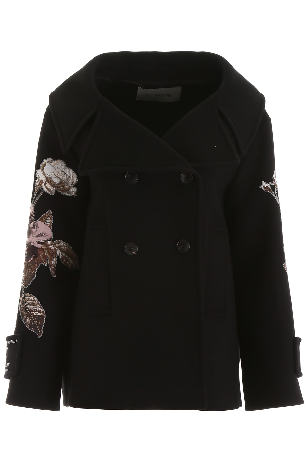 Valentino Lovers Patch Coat