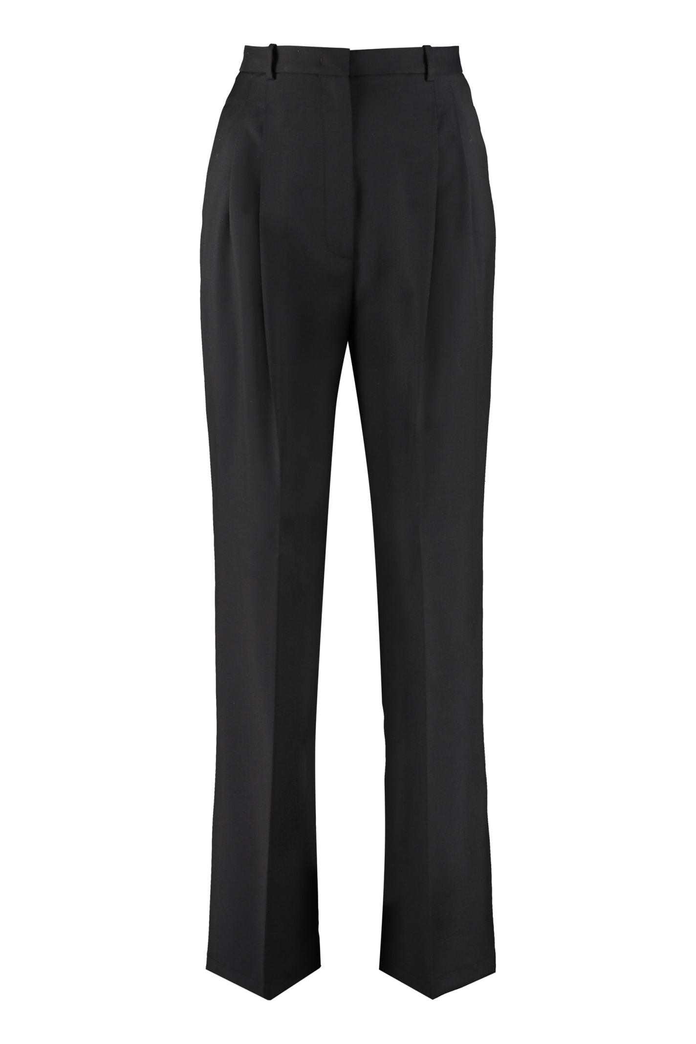 Fabiana Filippi Wool Wide-leg Trousers