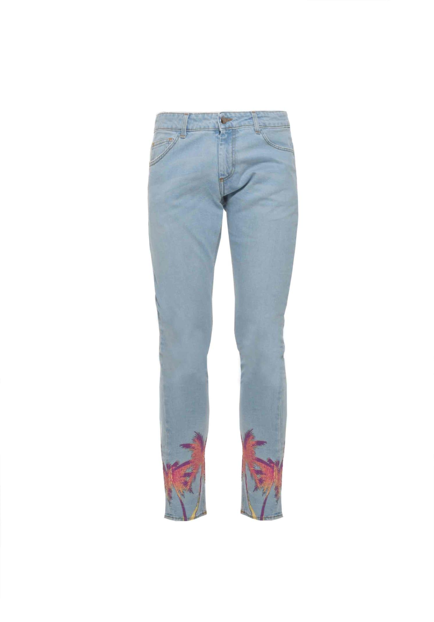Jeans Denim Palms