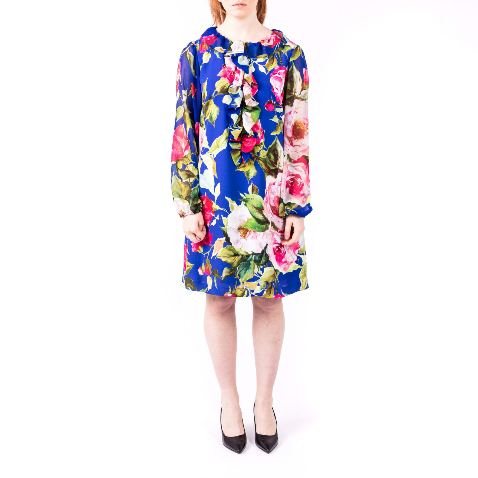 Photo of  Blugirl Viscose Floral Dress- shop Blugirl  online sales
