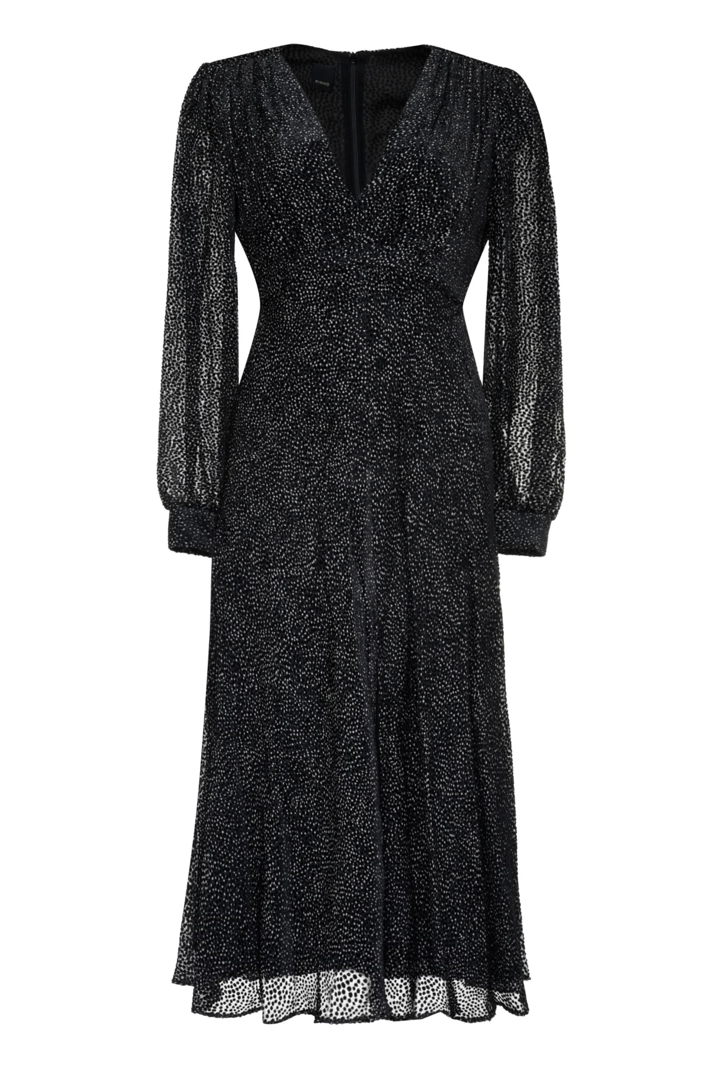 Buy Pinko Giovanni Devor?elvet Dress online, shop Pinko with free shipping