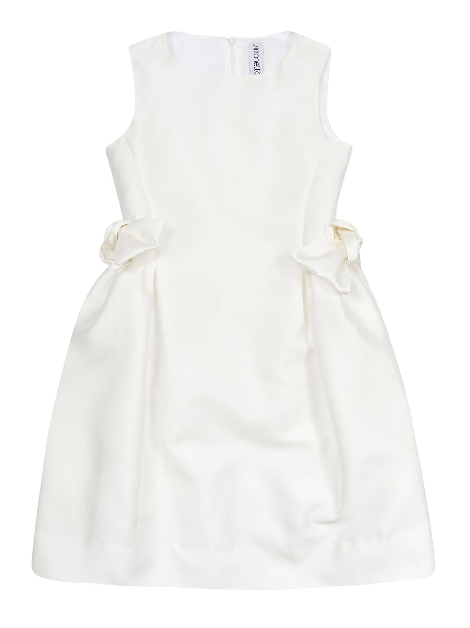 Simonetta Side Bow Detail Dress