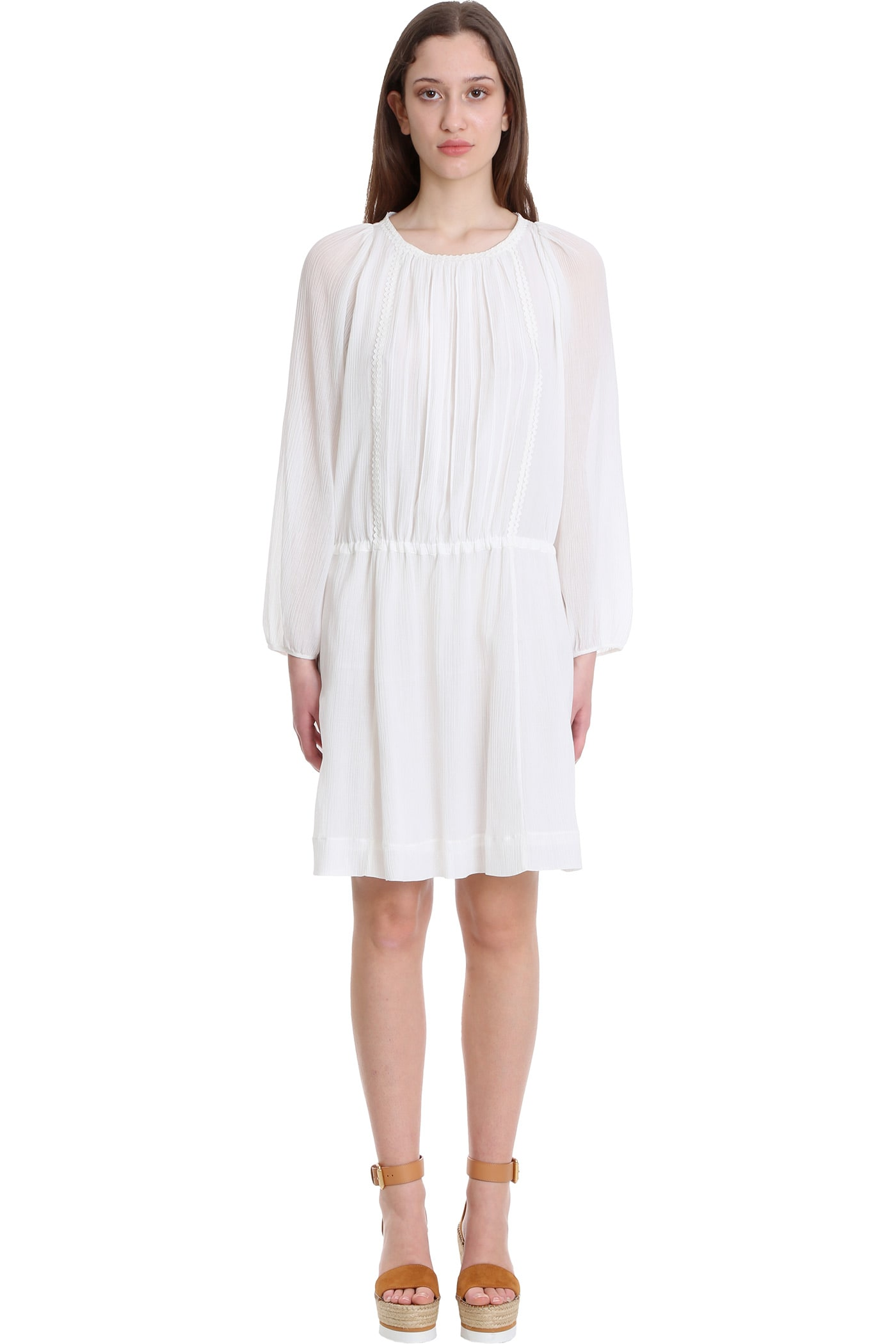 See By Chloé Dresses DRESS IN WHITE COTTON
