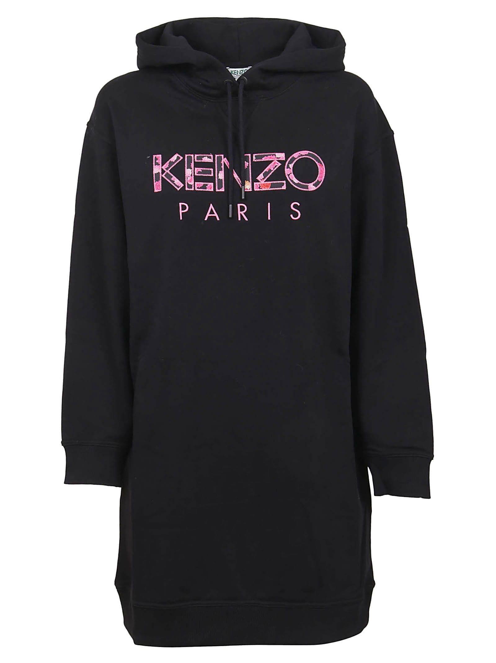 Kenzo Paris Hoodie Dress