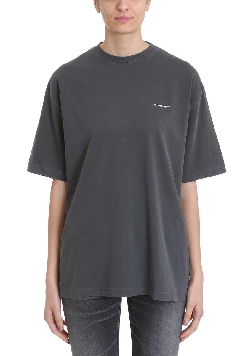 Balenciaga Shirts Balenciaga Oversized Logo T-shirt