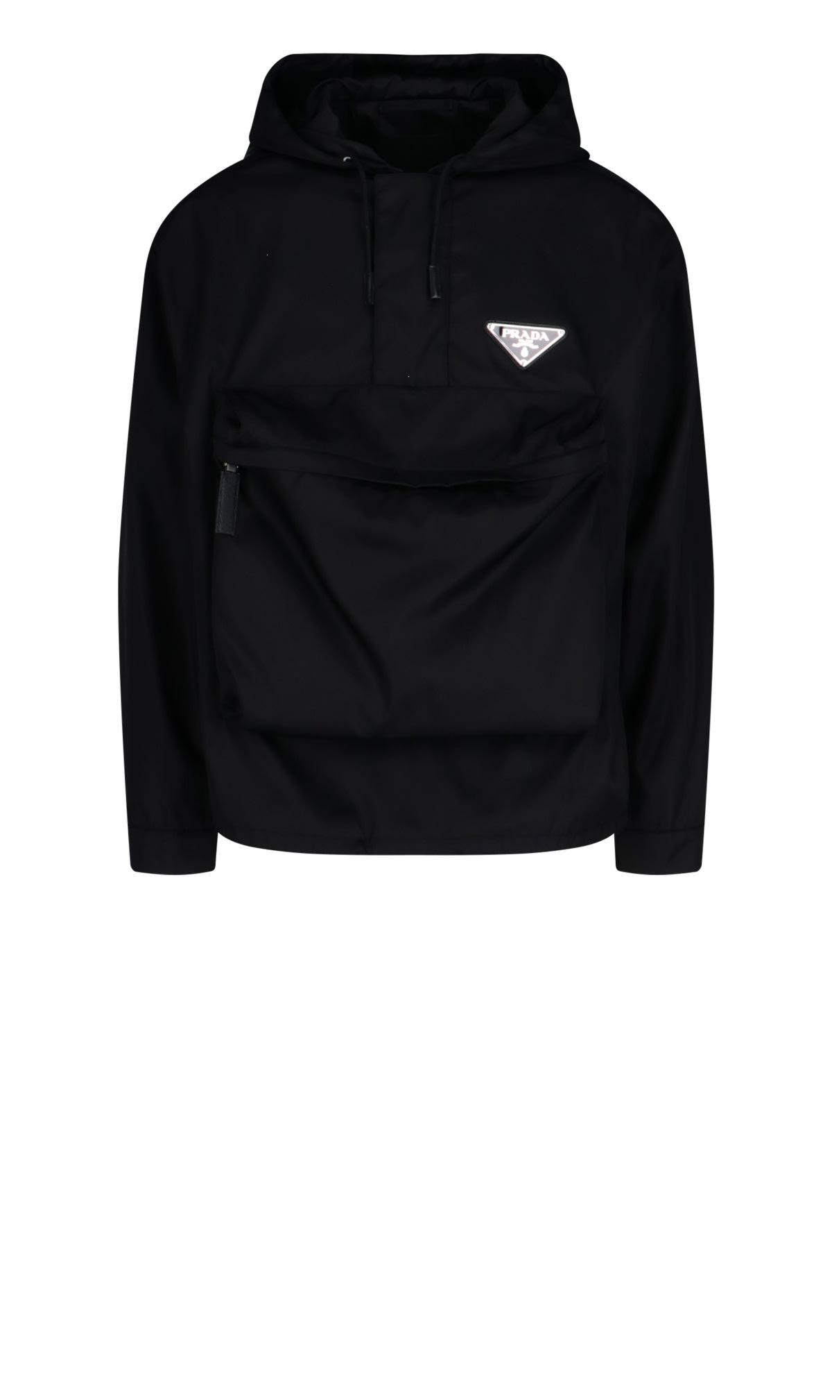 Gabardine Anorak Jacket