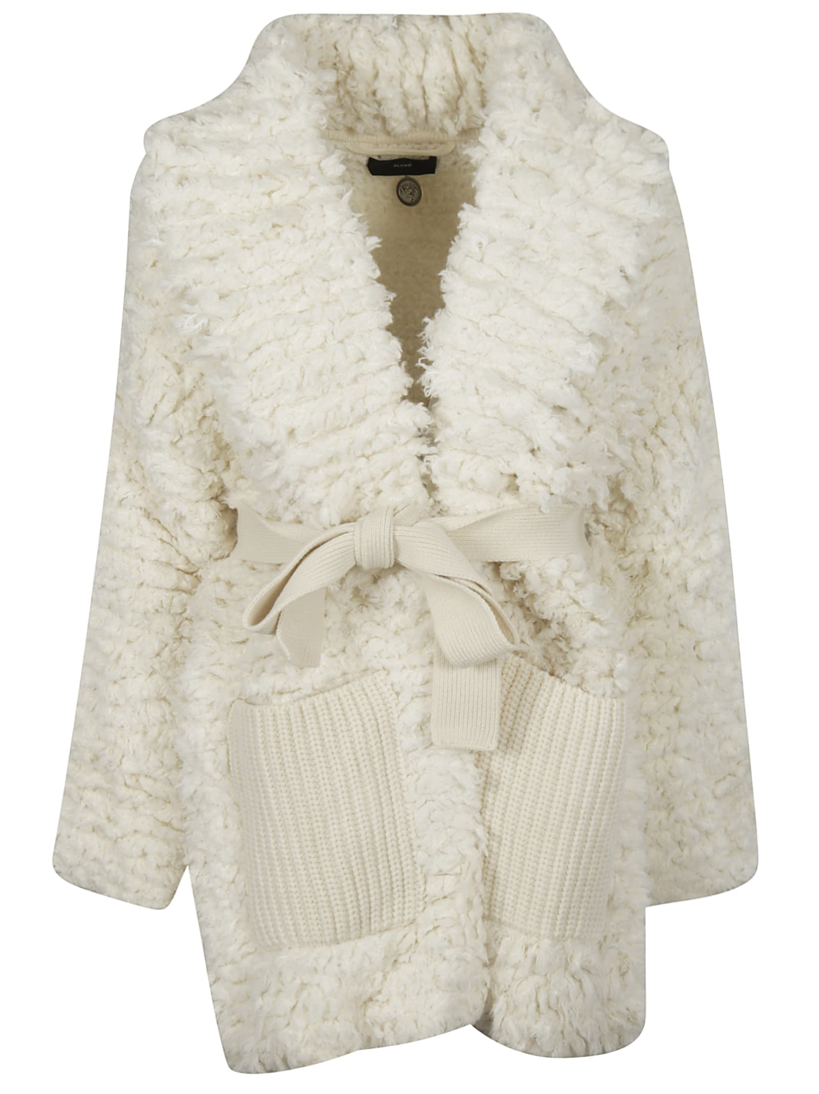 Alanui Knitted Stiches Coat