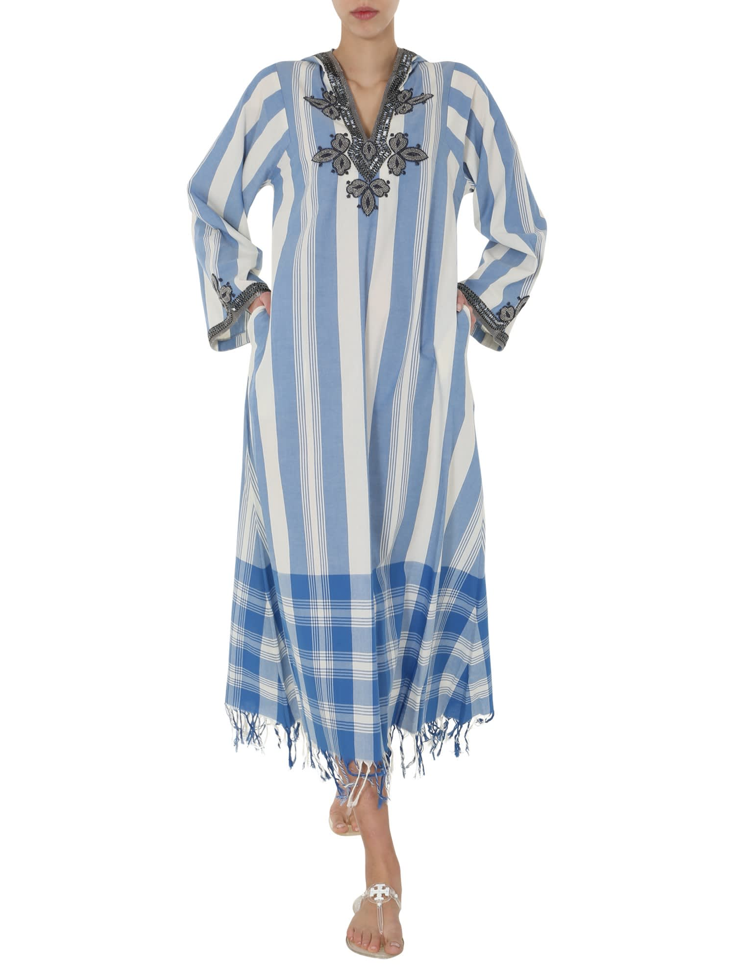 Buy Tory Burch Caftan Dress online, shop Tory Burch with free shipping