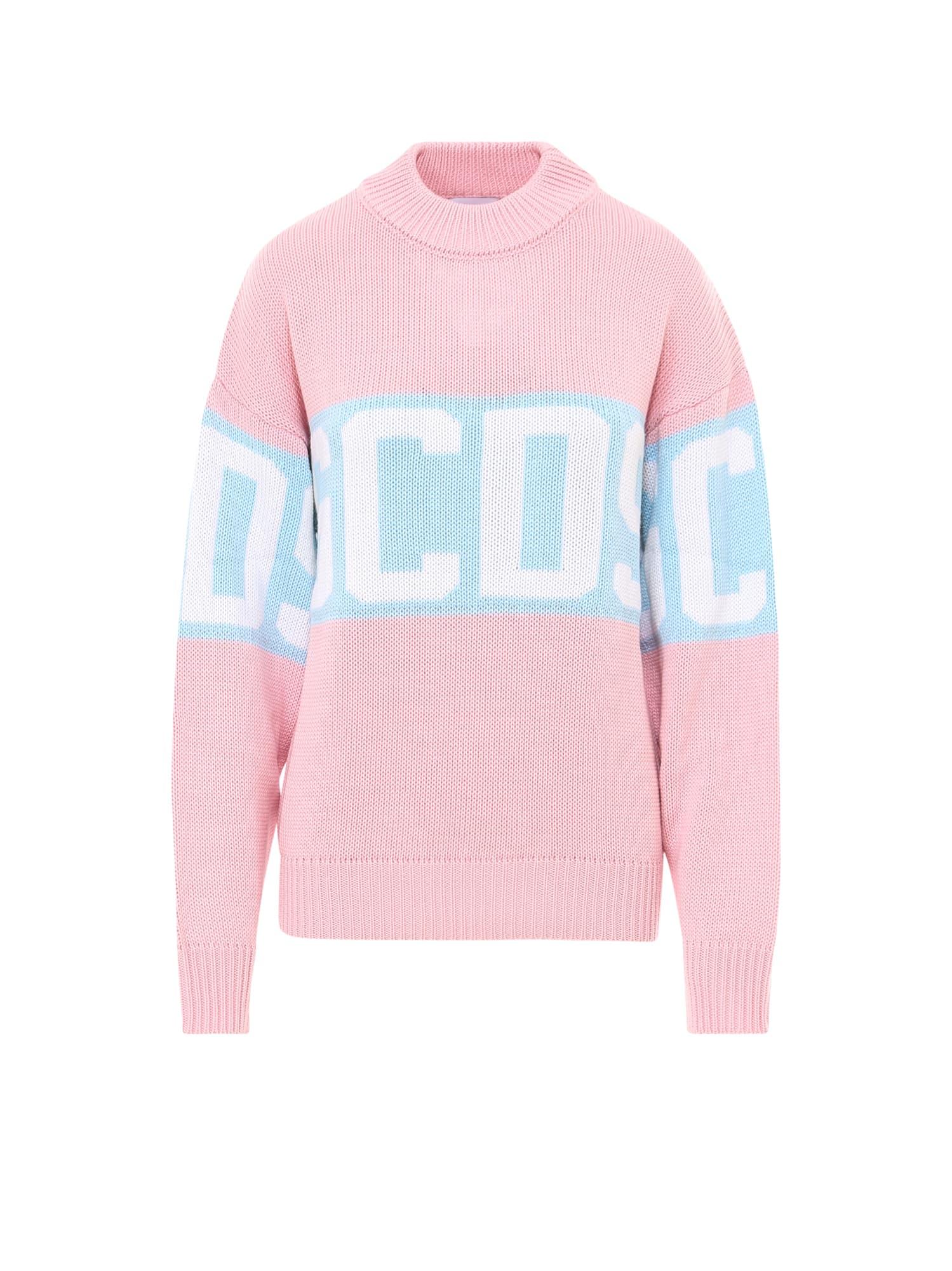 Gcds Sweater In Pink