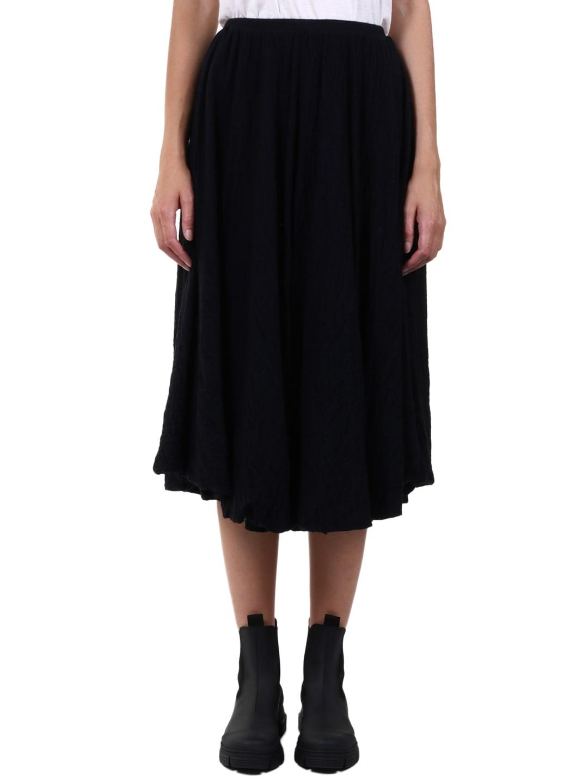 Jil Sander Ruffled Effect Skirt