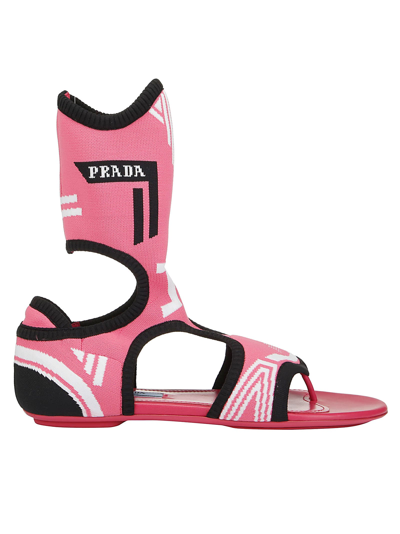 Geranio Prada Sandals 10953916Italist Prada nero Rq5AL34j