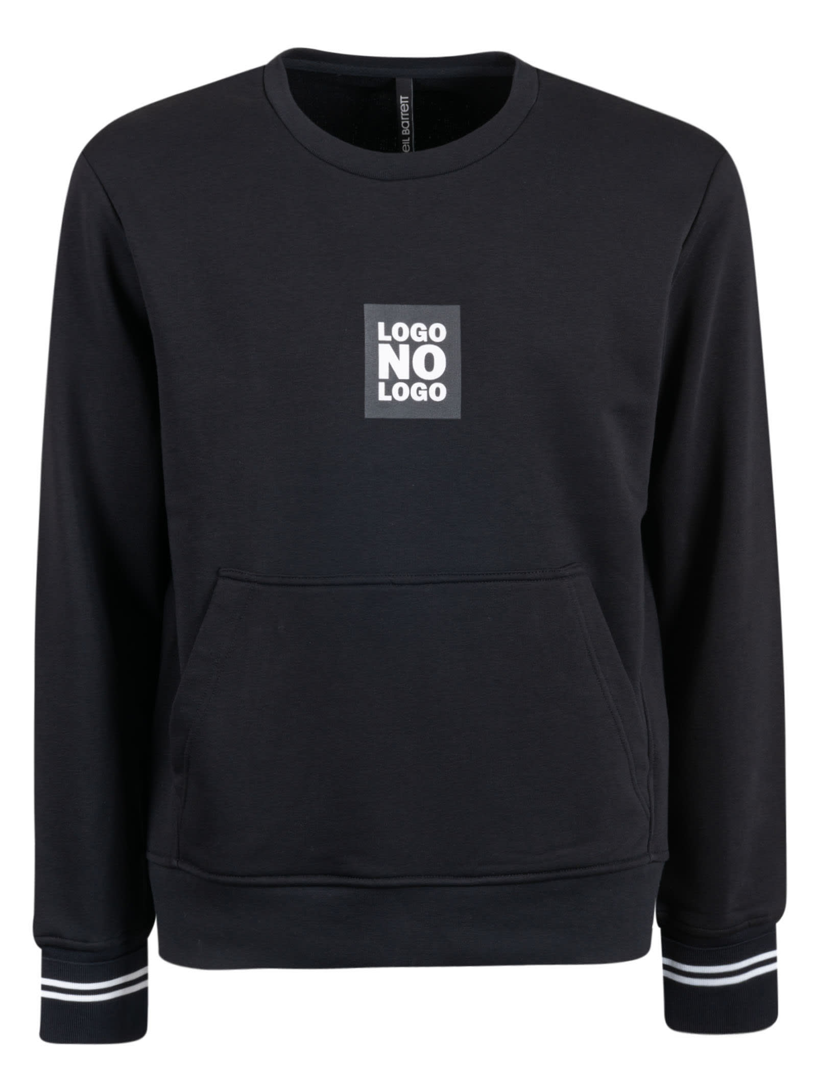 Neil Barrett No Logo Sweatshirt