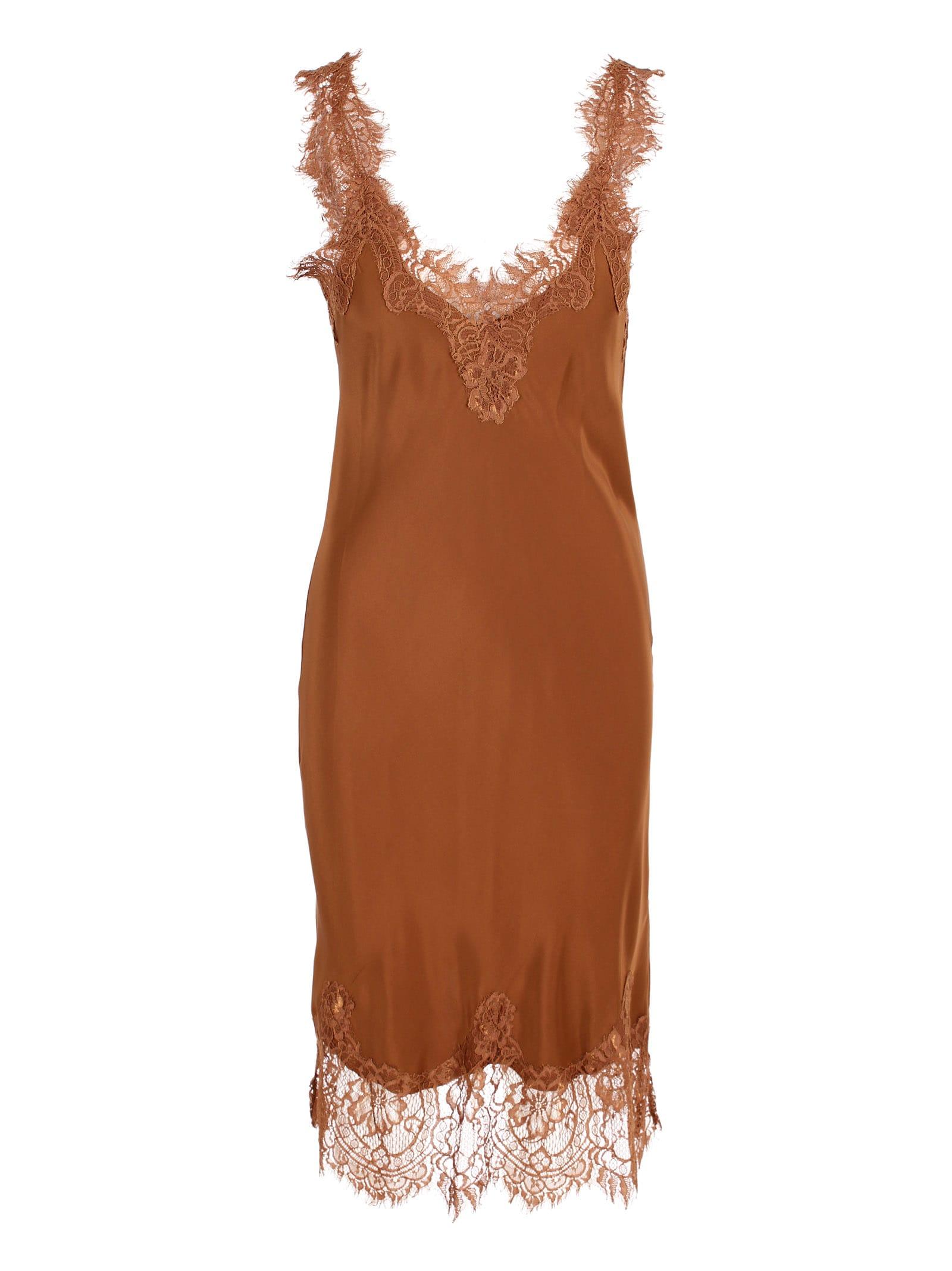 megan Coco Silk Dress