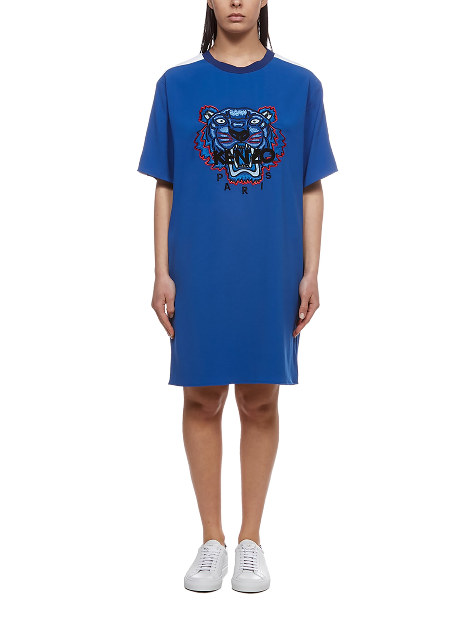 Buy Kenzo Embroidered Tiger Dress online, shop Kenzo with free shipping