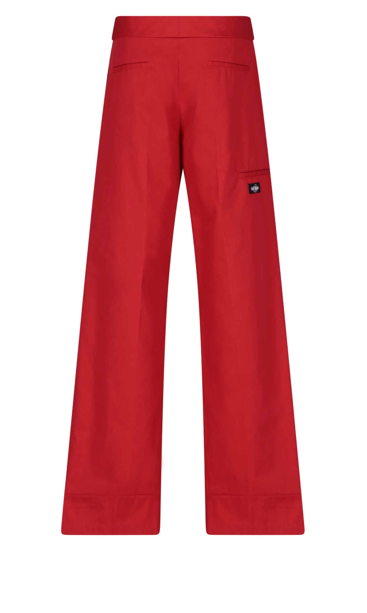 Raf Simons Jeans In Red