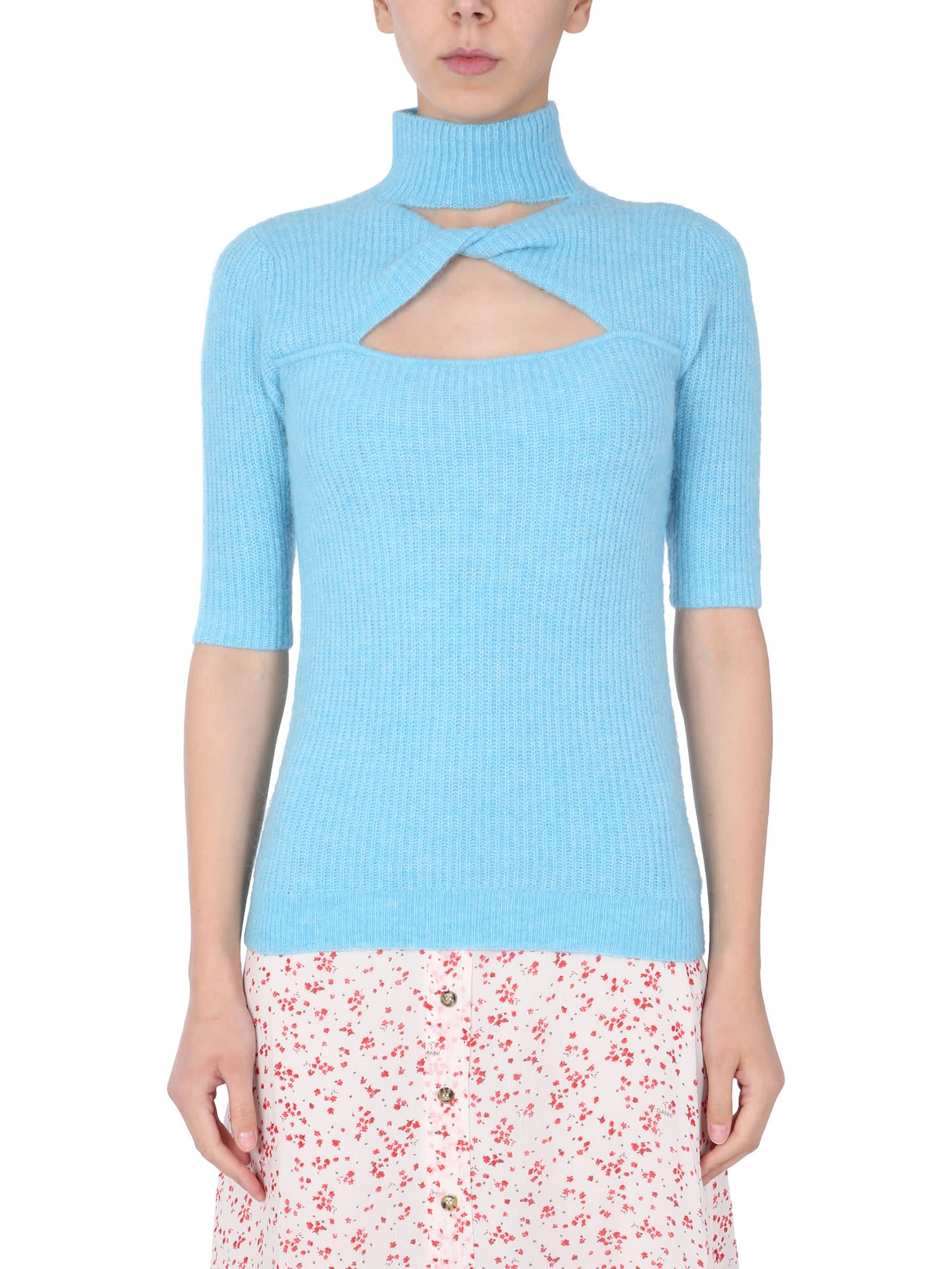 Ganni Wools KNITTED TOP