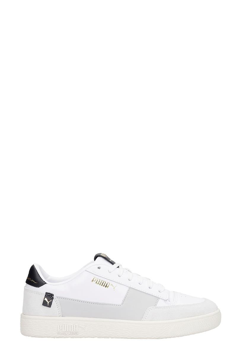 Puma Ralph Sampsonmc Sneakers In White Leather