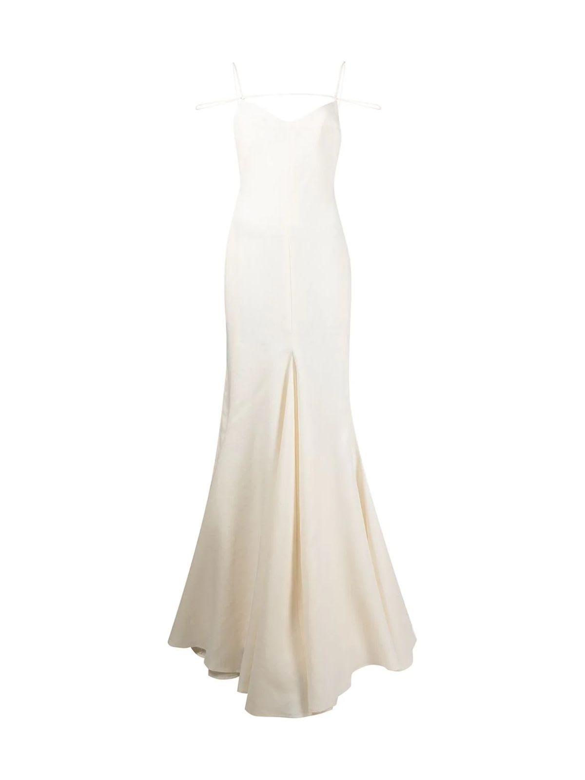 Buy Jacquemus La Robe Camaurgue Long Dress online, shop Jacquemus with free shipping
