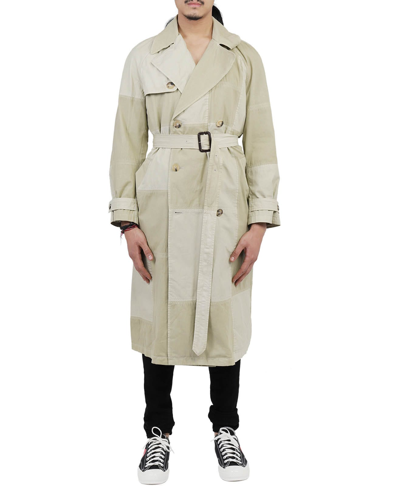 Jw Anderson Cottons JW ANDERSON BEIGE TRENCH COAT