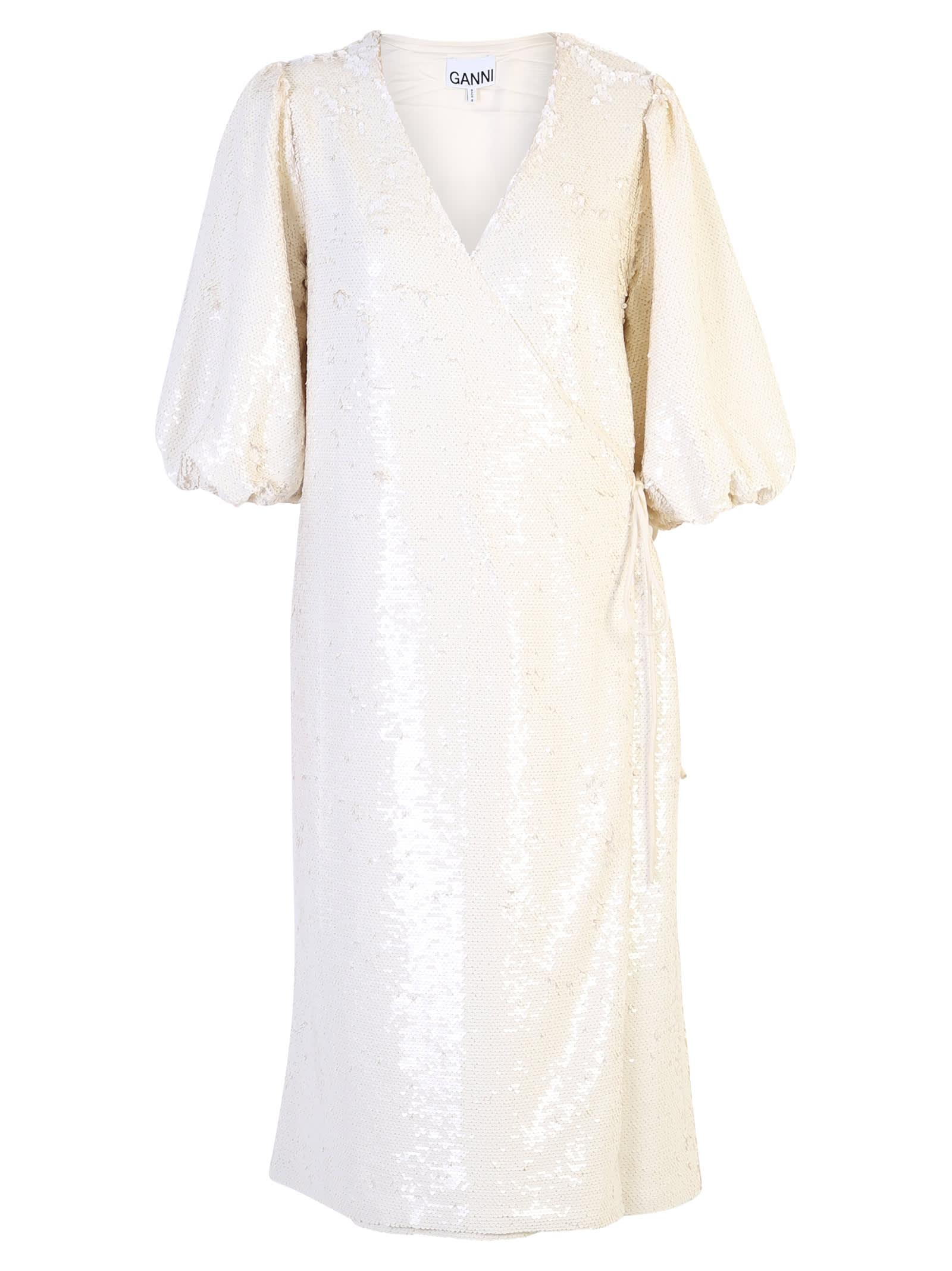 Ganni Sequinned Dress