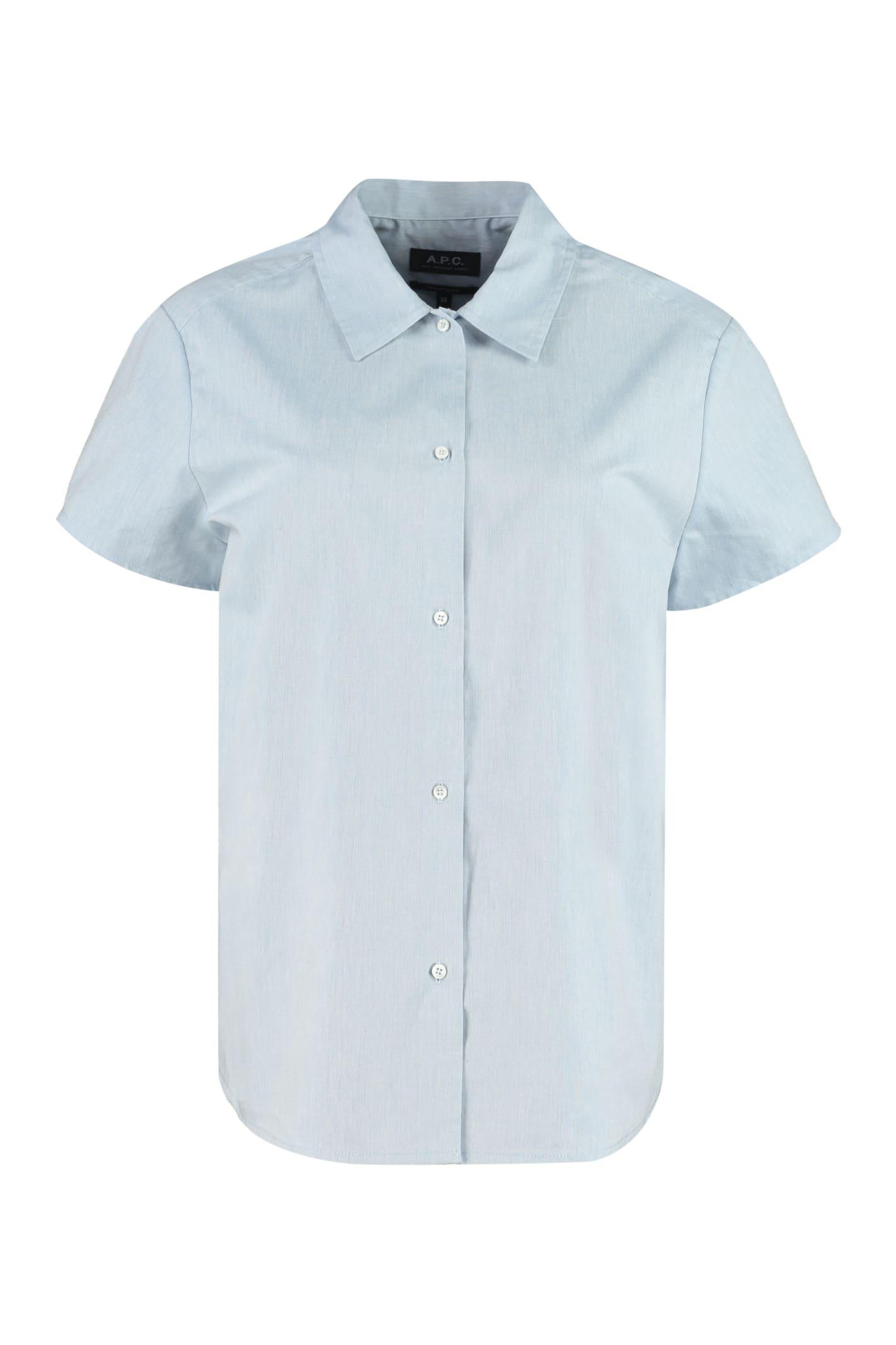 A.p.c. Shirts MARINA COTTON SHIRT