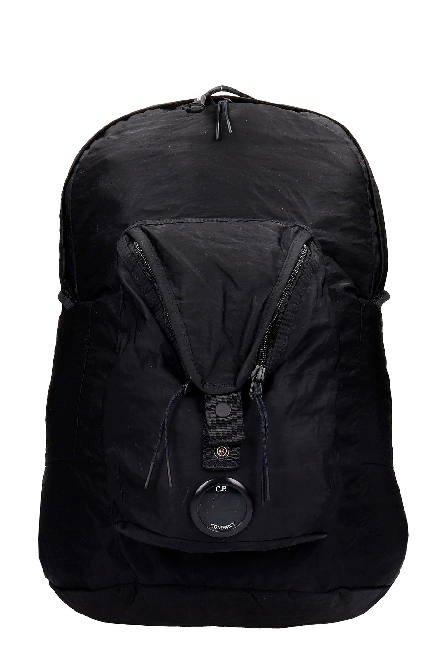 C.p. Company Backpacks BACKPACK IN BLACK SYNTHETIC FIBERS
