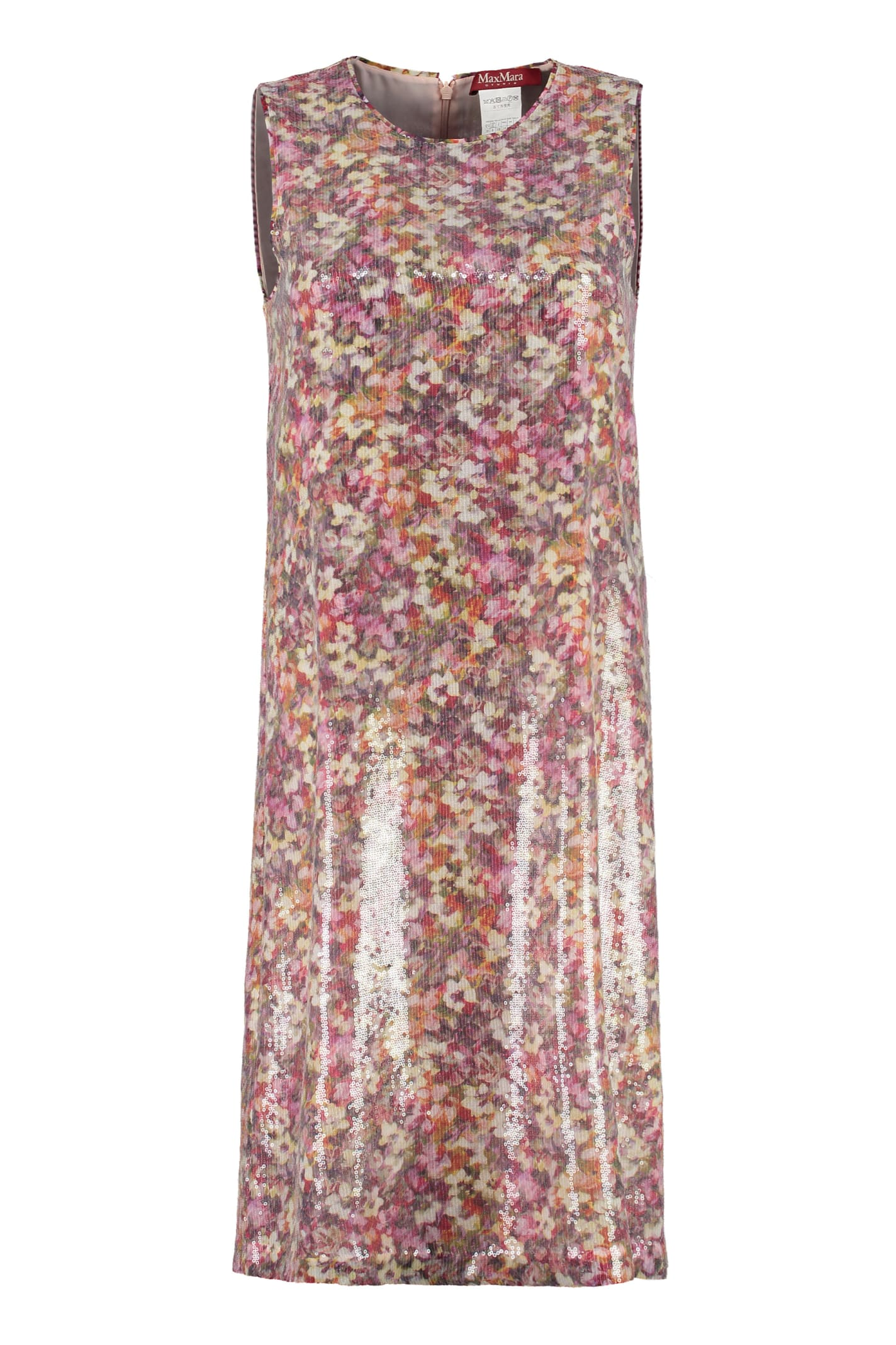 Max Mara Studio Blocco Sequined Dress