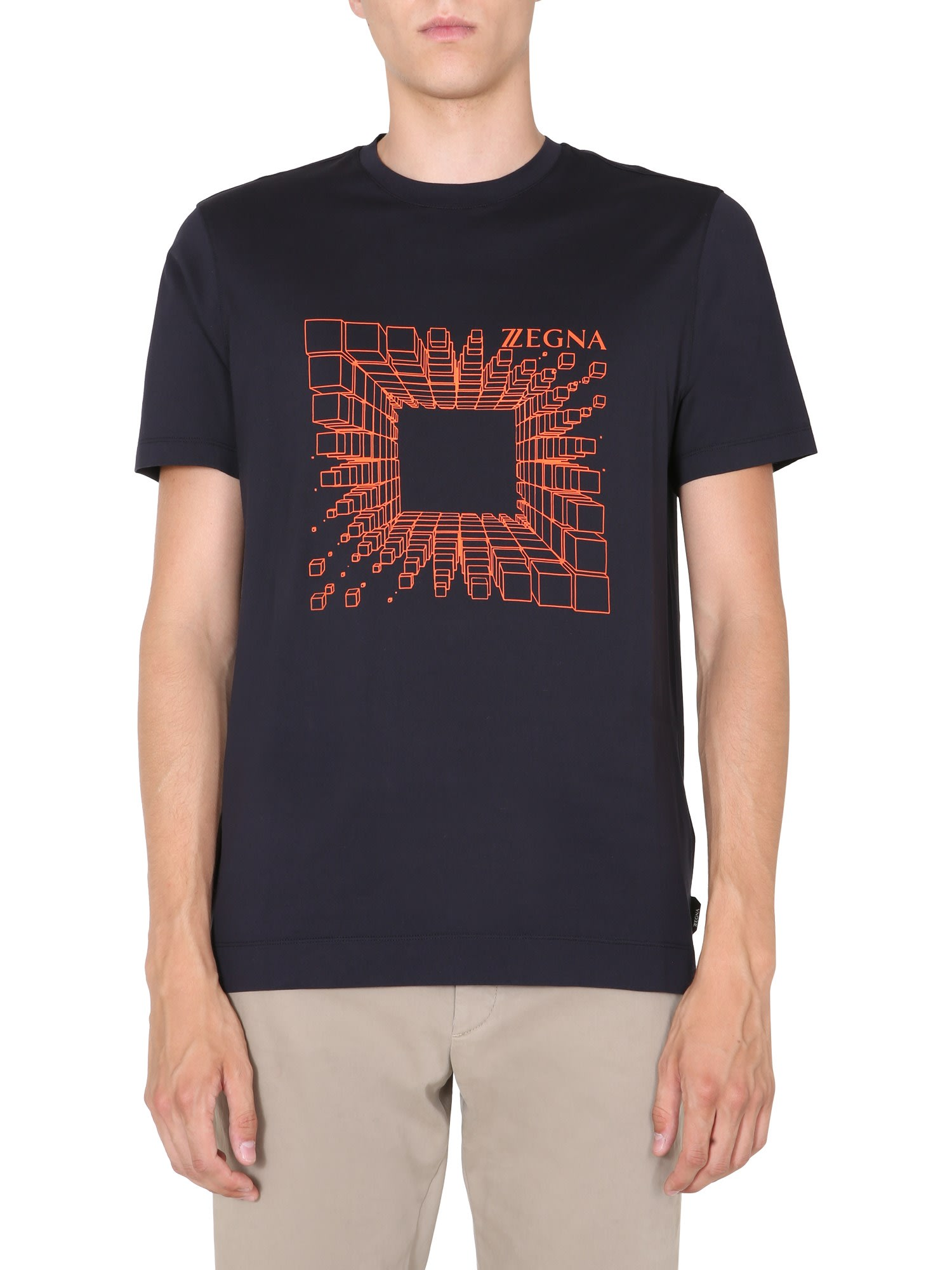 Z Zegna Slim Fit T-shirt