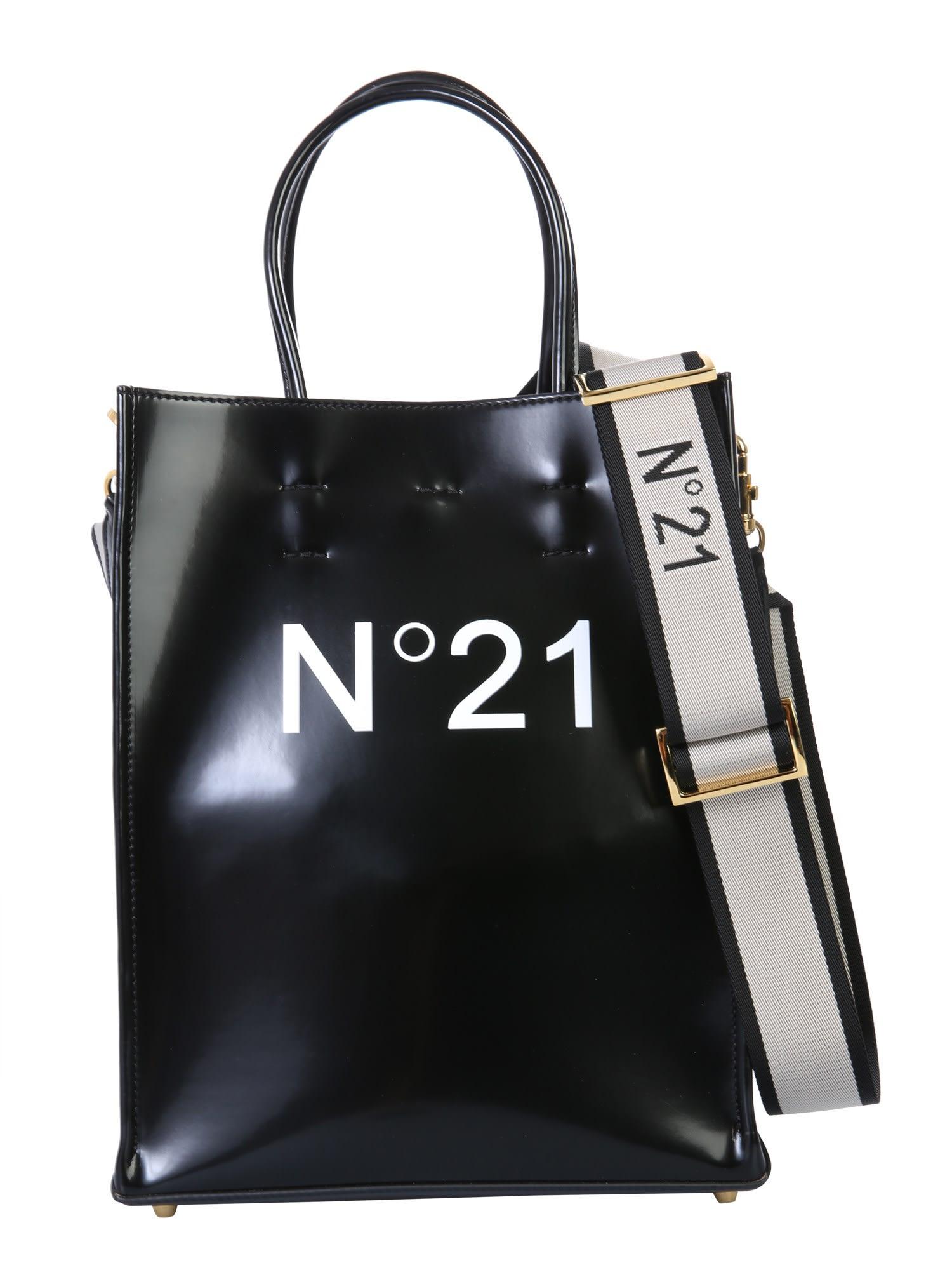 N°21 LOGO TOTE BAG