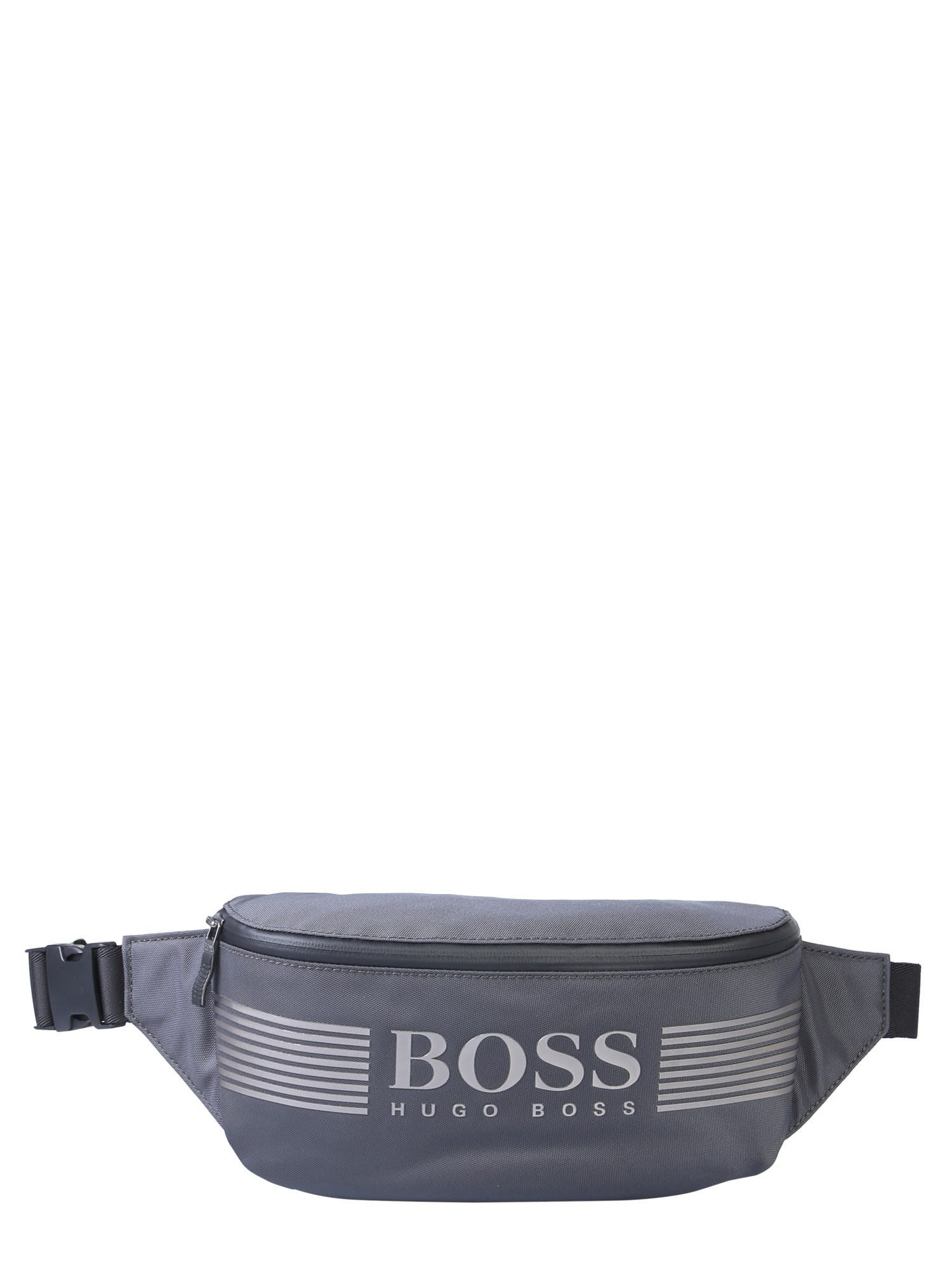 check out cost charm best service Hugo Boss Hugo Boss Pouch With Logo - GRIGIO - 11080637 ...