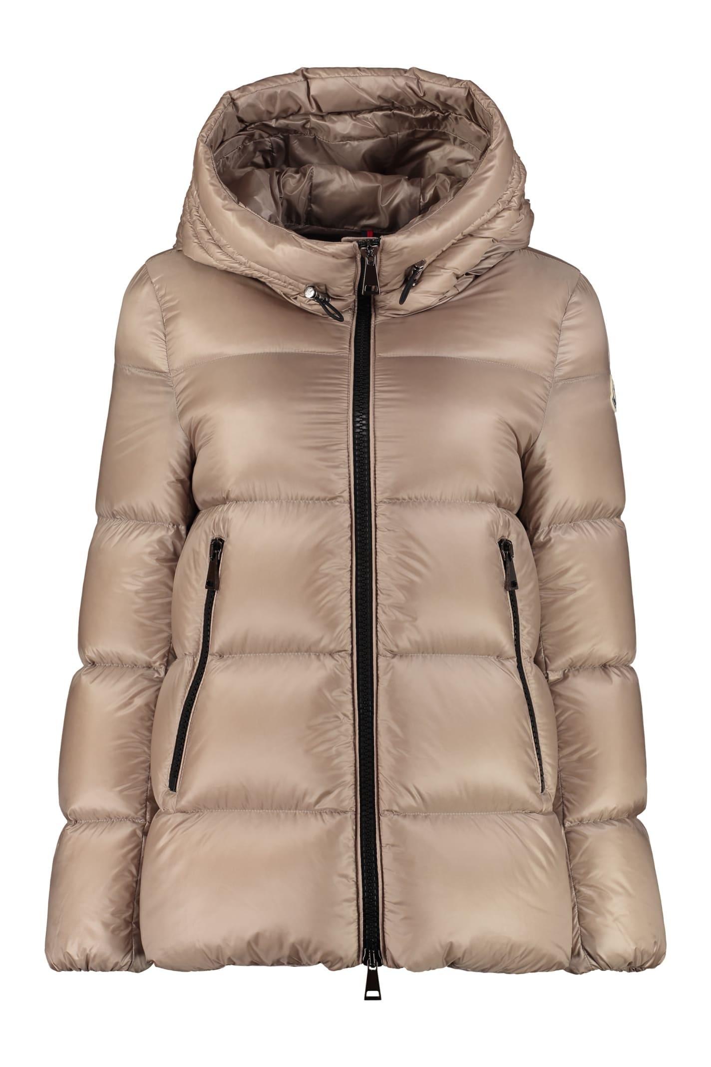 Moncler Seritte Hooded Short Down Jacket