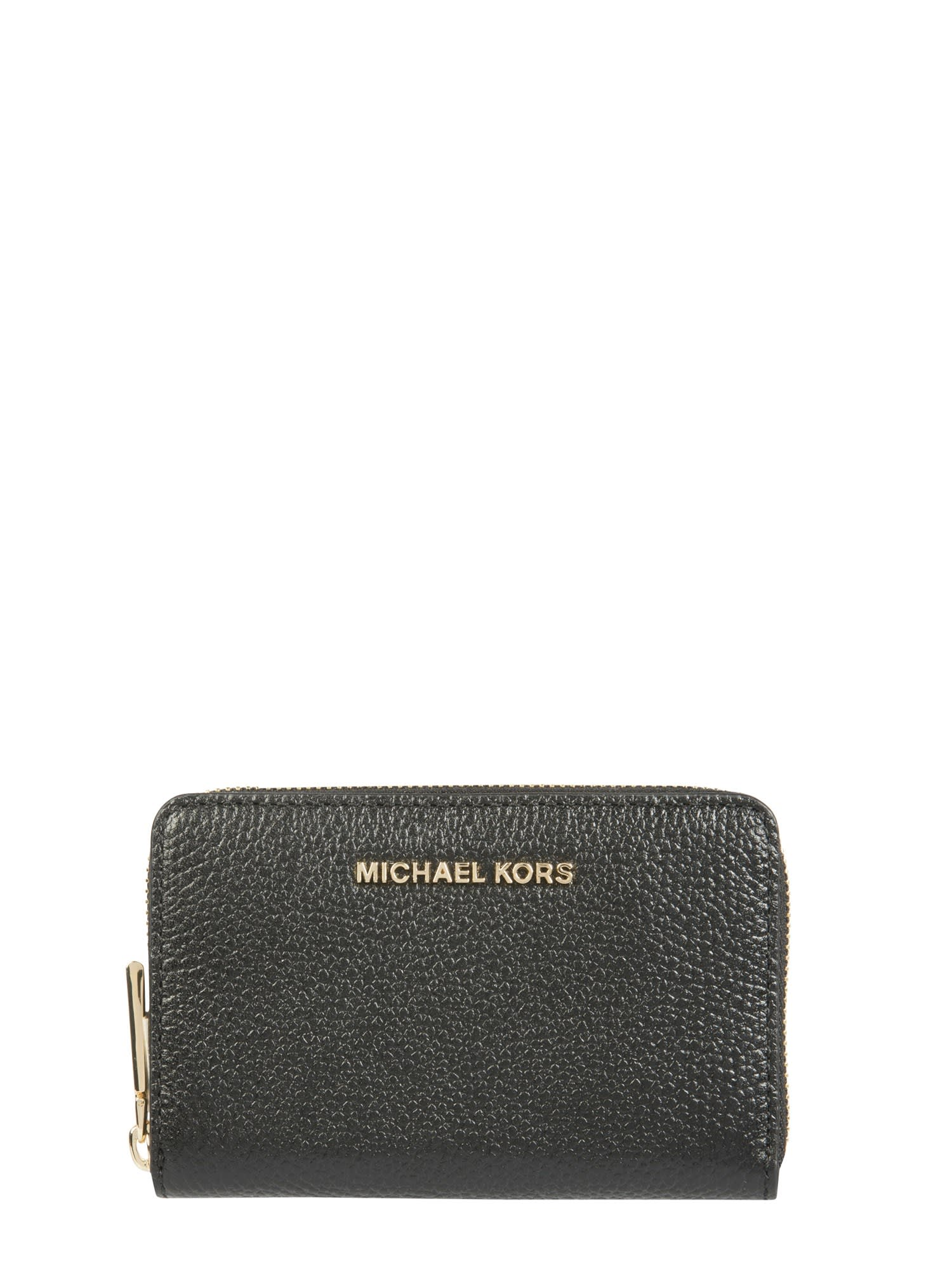 Michael Michael Kors COMPACT CARD HOLDER WITH LOGO
